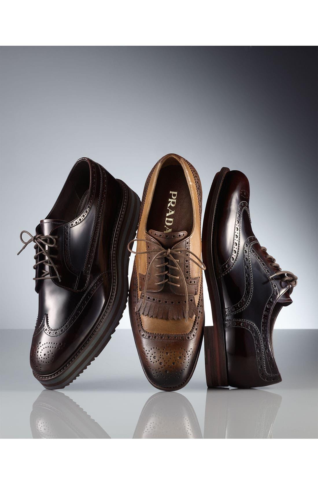 Alternate Image 5  - Prada Kiltie Spectator Shoe