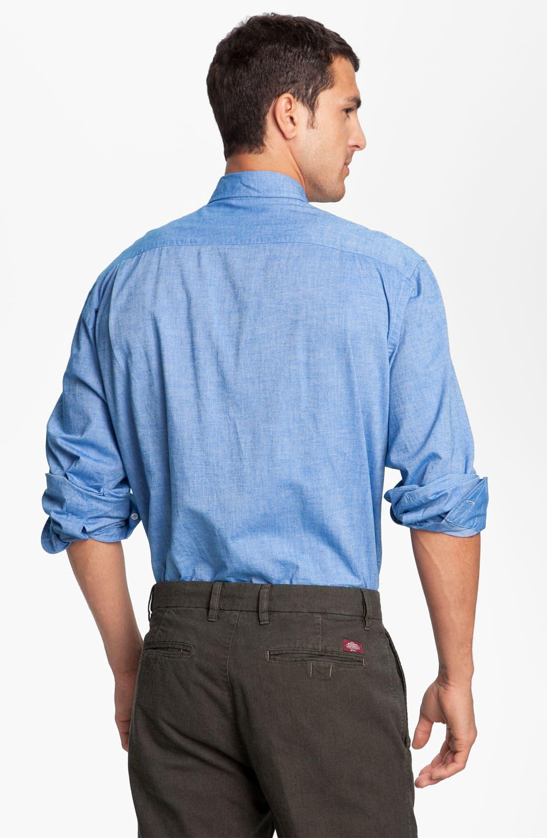 Alternate Image 2  - Mason's Brushed Cotton Shirt
