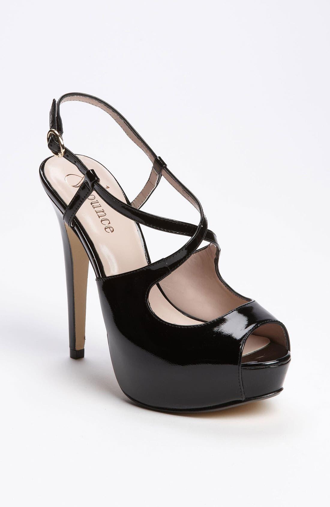 Main Image - Flounce 'Dazzle' Platform Sandal