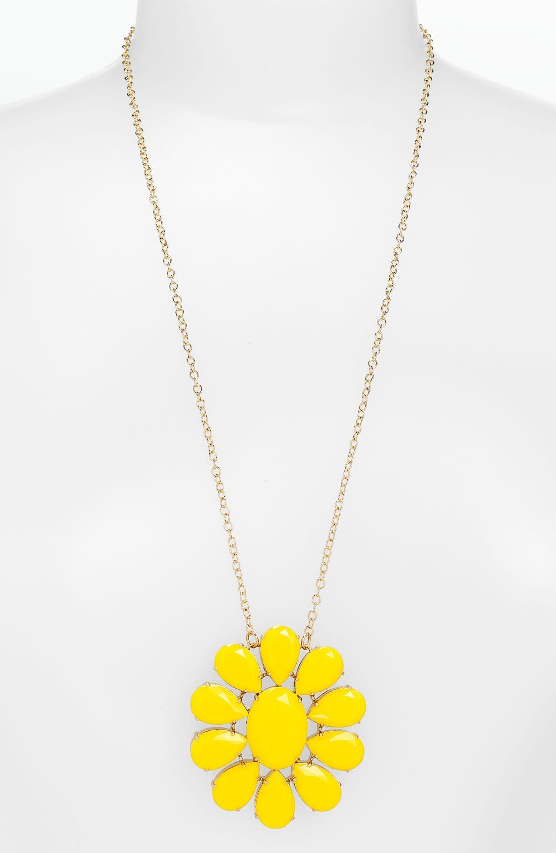 Main Image - kate spade new york 'plaza athénée' long pendant necklace