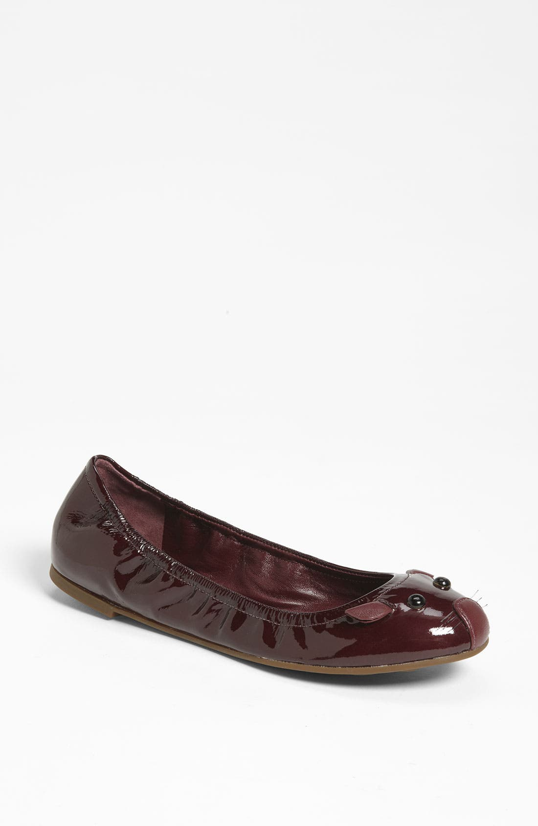 Alternate Image 1 Selected - MARC BY MARC JACOBS Patent Ballerina Flat