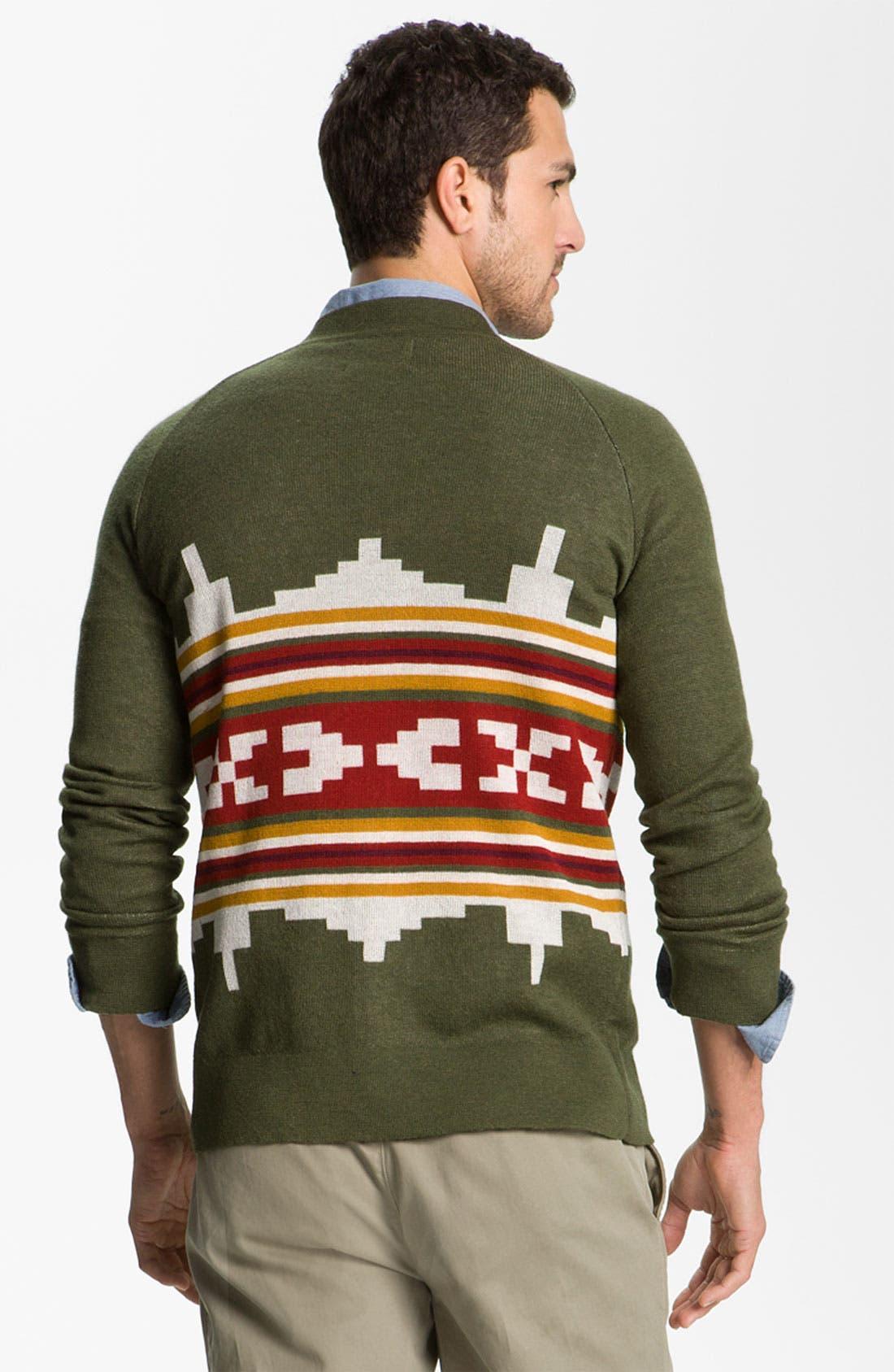 Alternate Image 2  - Pendleton Portland Collection 'Wallowa' Merino Wool Cardigan