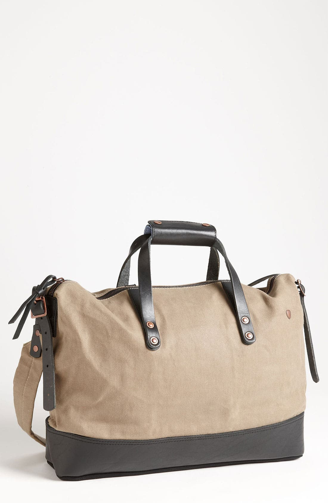Overnight Bag,                         Main,                         color, Khaki