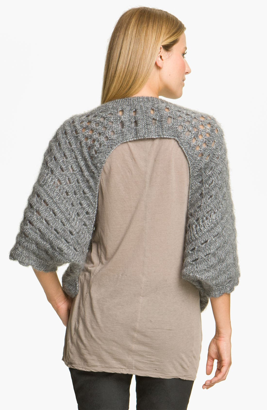 Alternate Image 2  - Skaist-Taylor Open Crochet Pullover