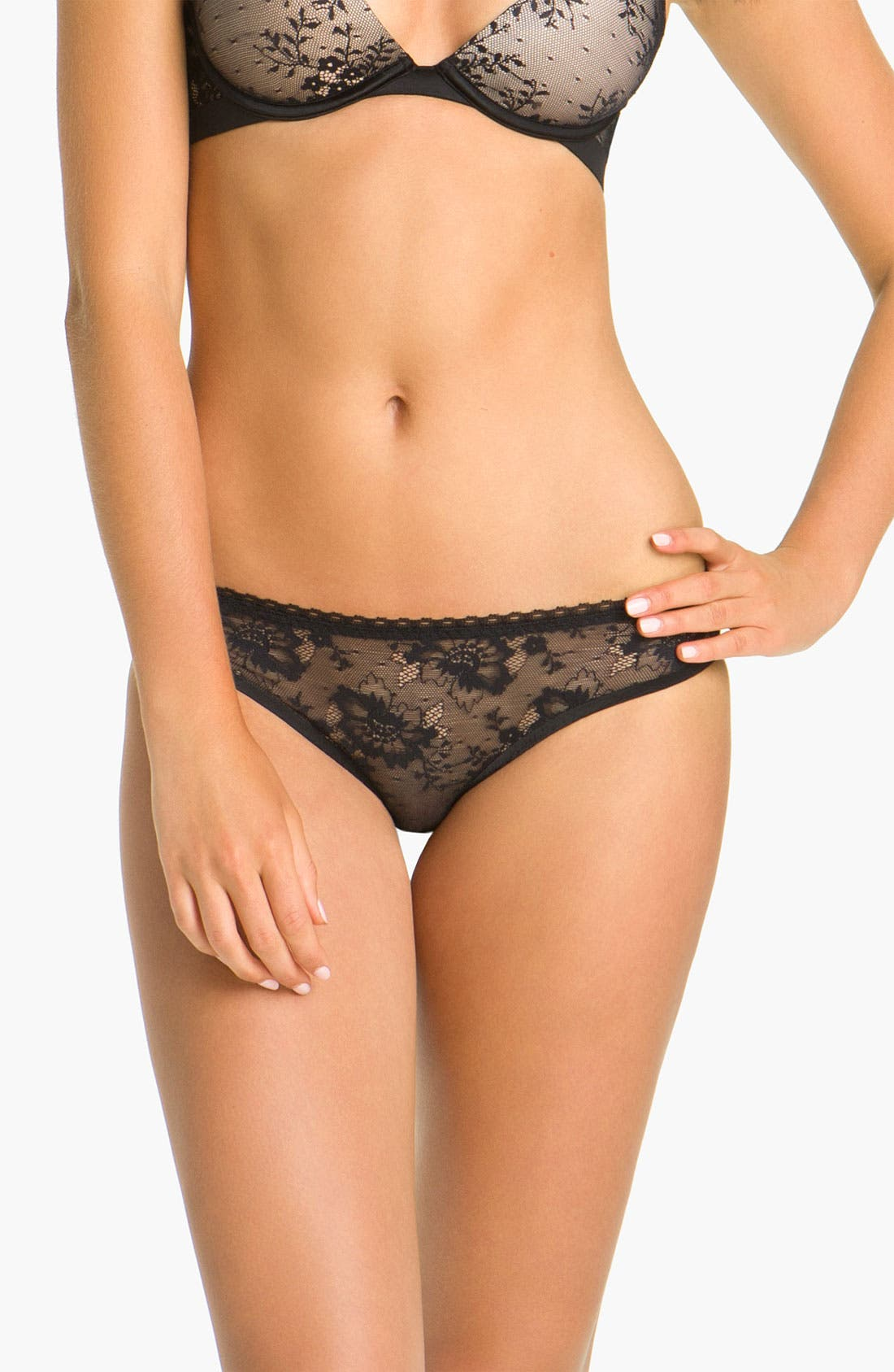 Alternate Image 1 Selected - Stella McCartney Sheer Lace Bikini
