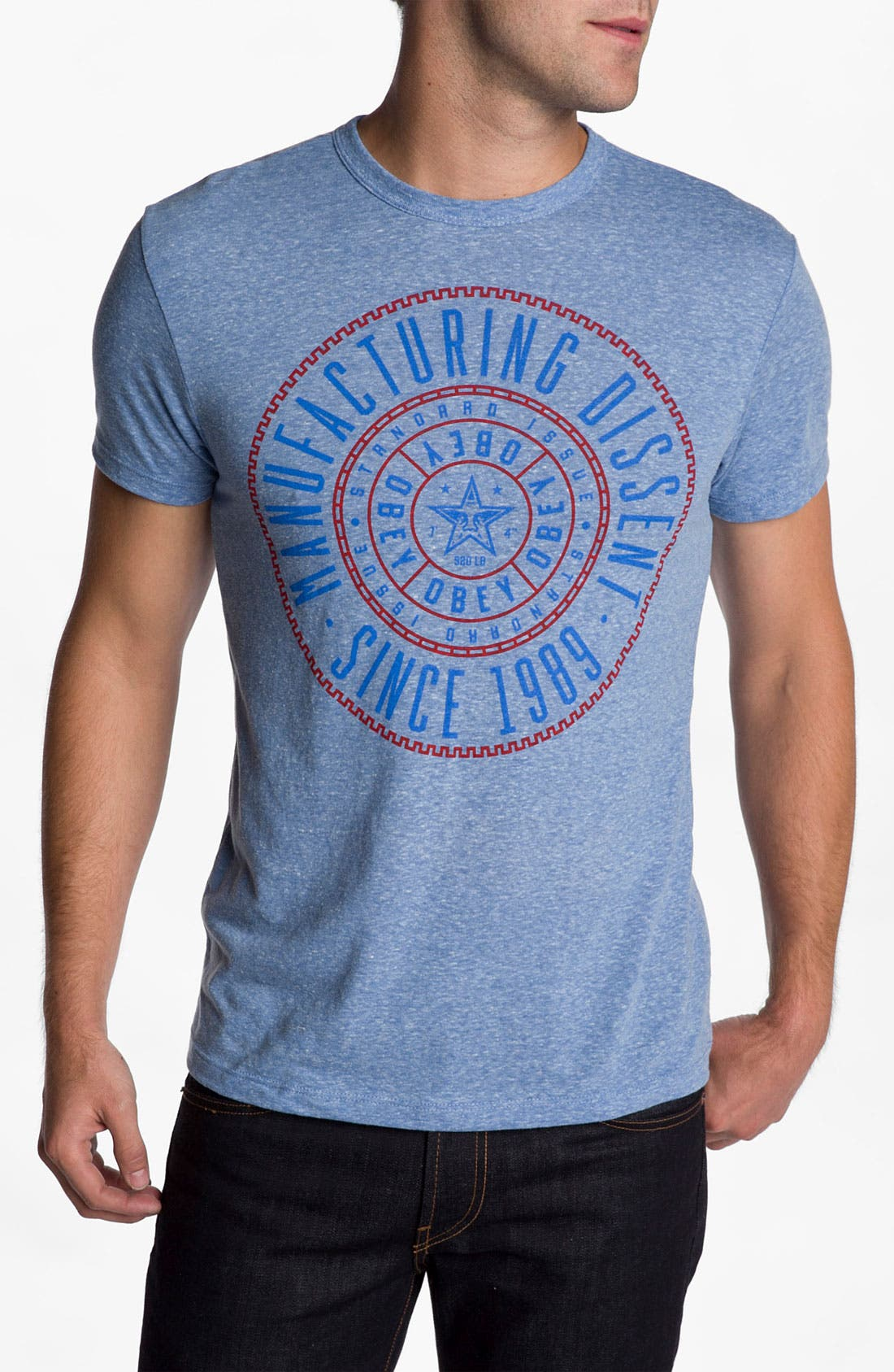 Alternate Image 1 Selected - Obey 'Notary' T-Shirt