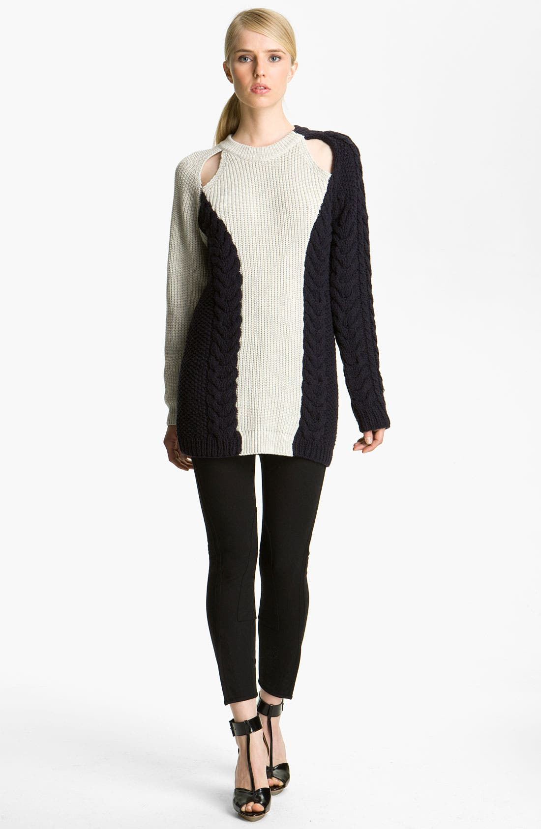 Main Image - 3.1 Phillip Lim Cable Knit Sweater