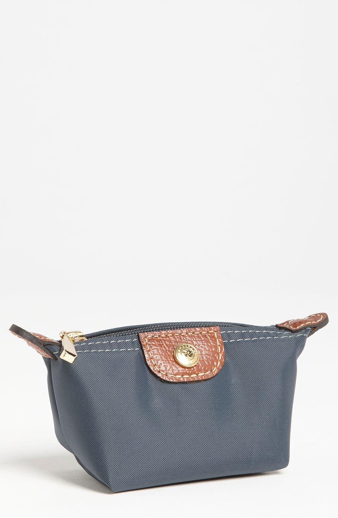 Main Image - Longchamp 'Le Pliage' Coin Pouch