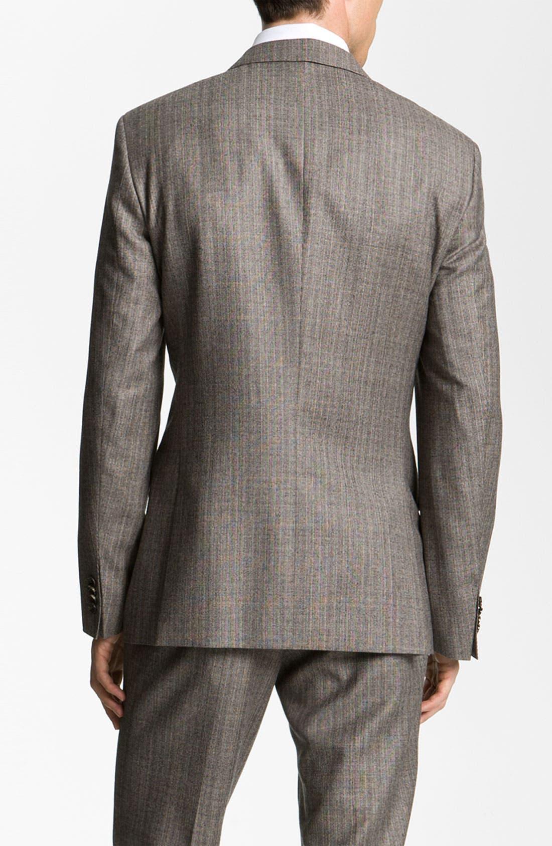 Alternate Image 8  - BOSS Black 'Hold Genius' Trim Fit Plaid Suit
