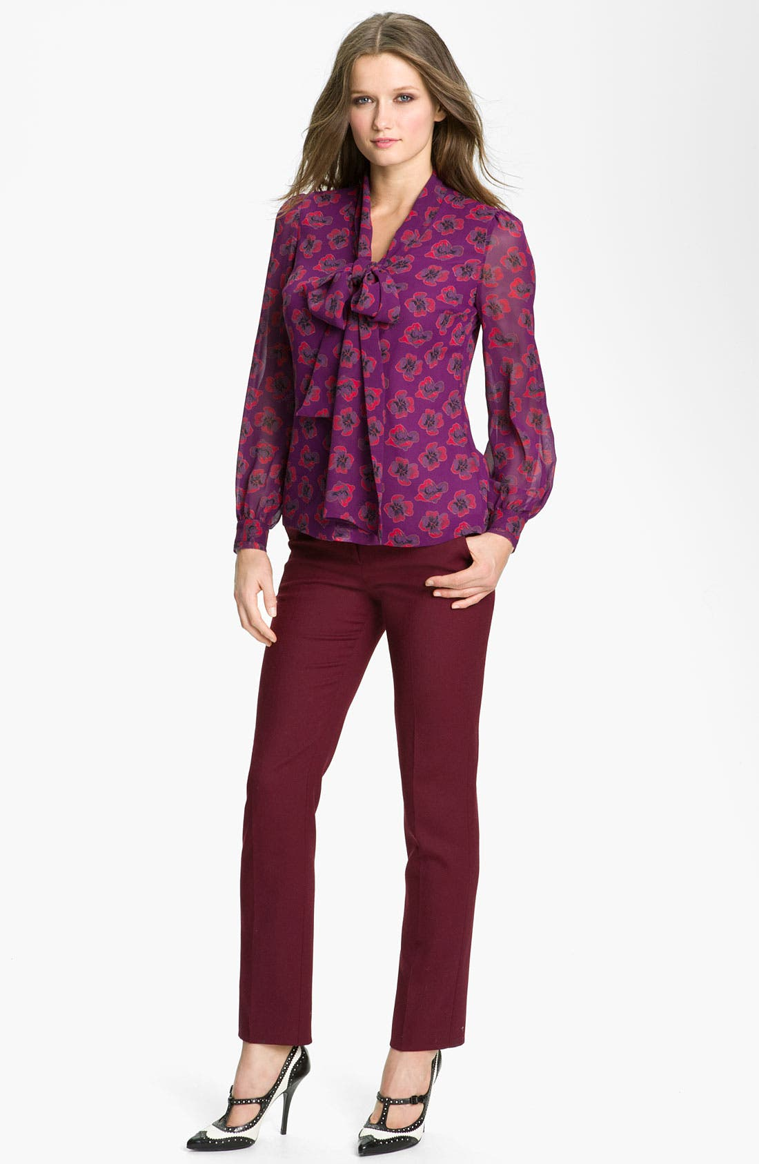 Alternate Image 3  - Tory Burch 'Bryce' Silk Blouse