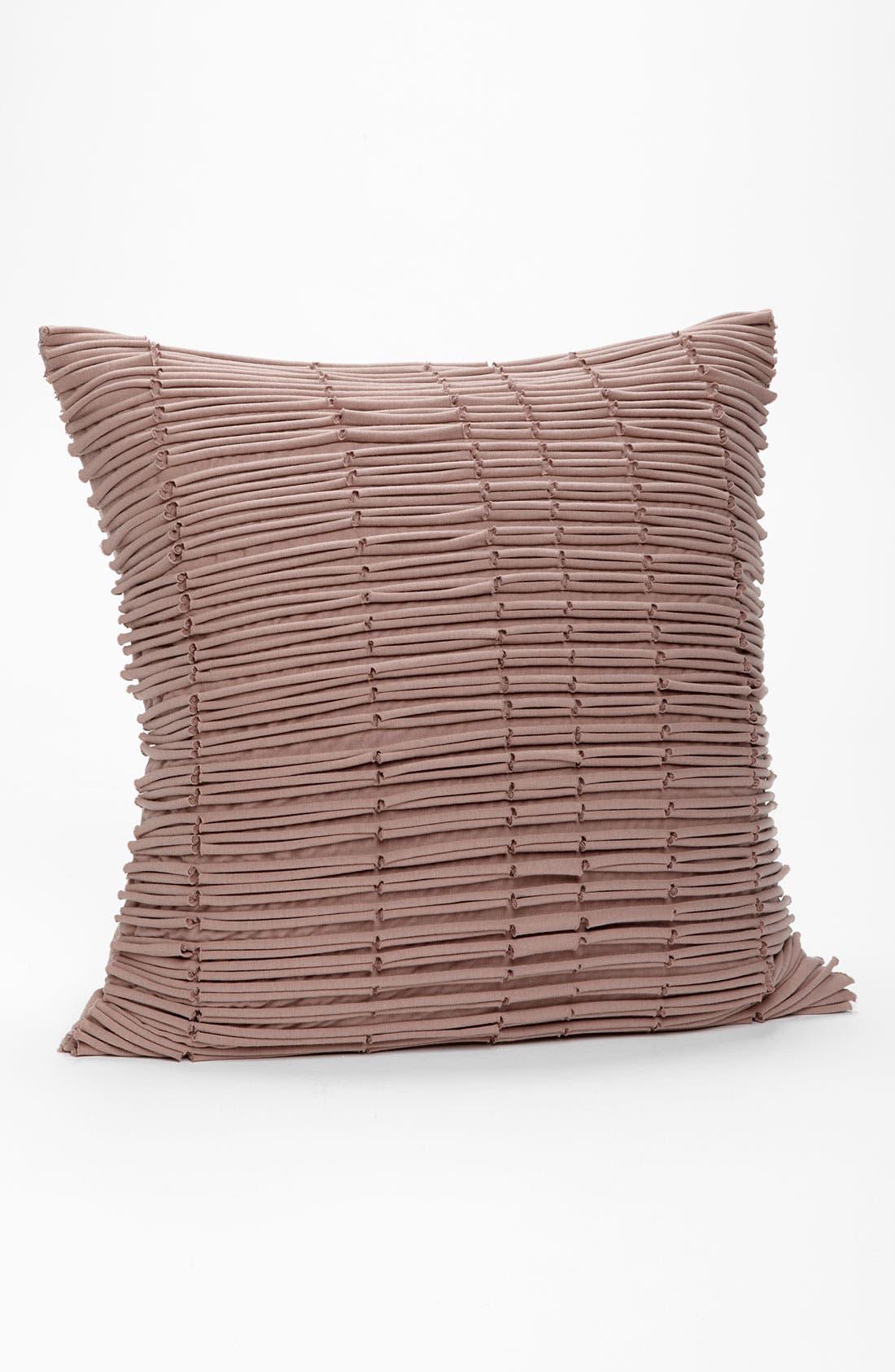 'Loop de Loop' Cotton Pillow Cover,                         Main,                         color, Rose- Antler