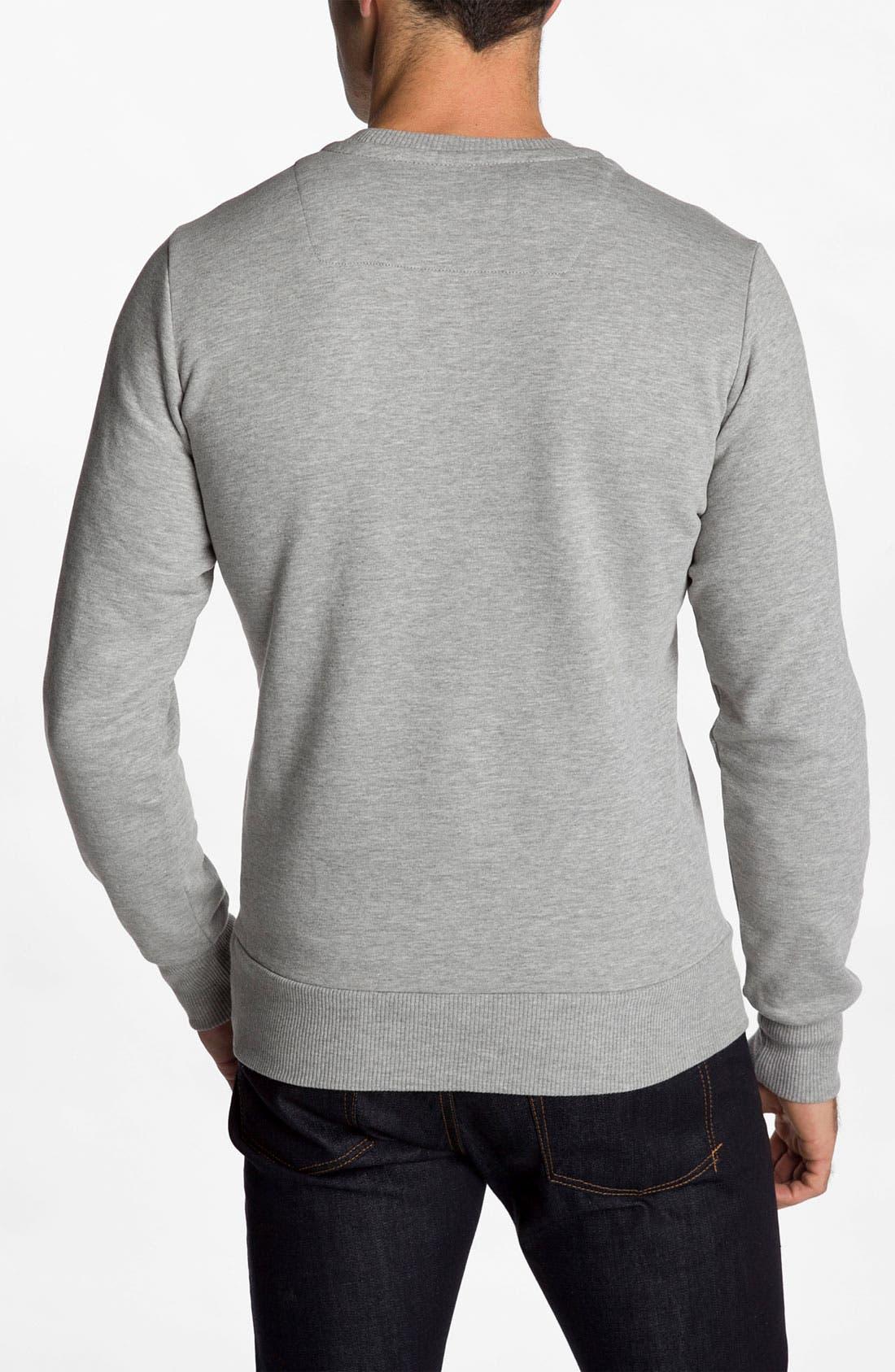 Alternate Image 2  - DIESEL® 'Sleaffy' Sweatshirt