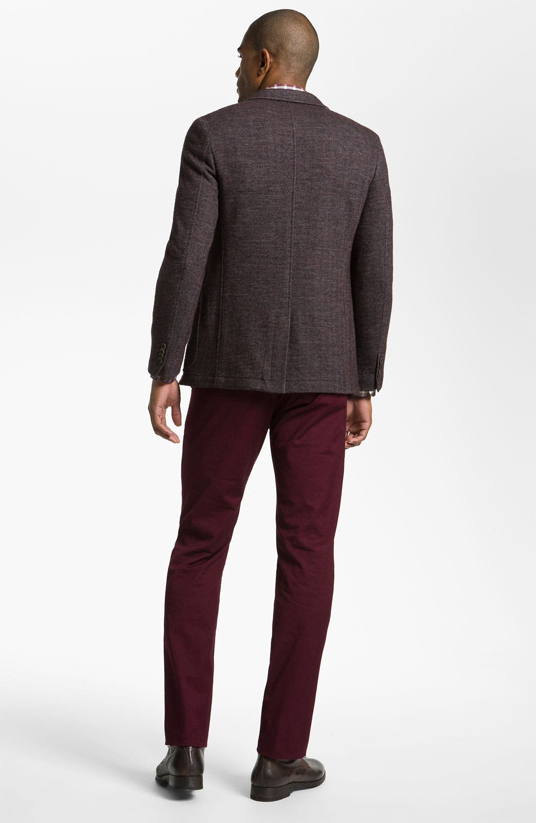 Alternate Image 5  - Hickey Freeman 'Donegal' Merino Blend Sweater Vest