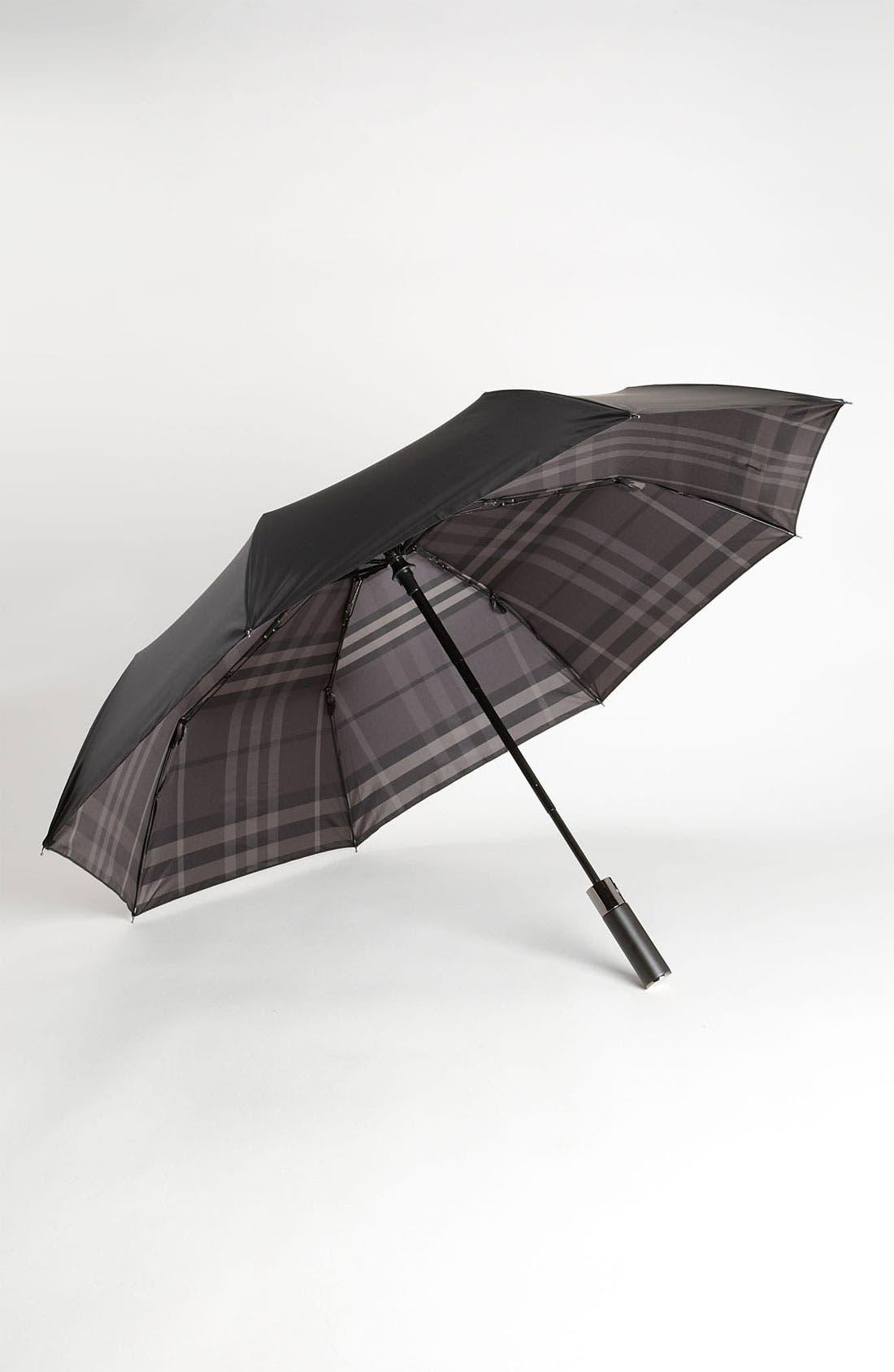 Alternate Image 1 Selected - Burberry Folding Umbrella
