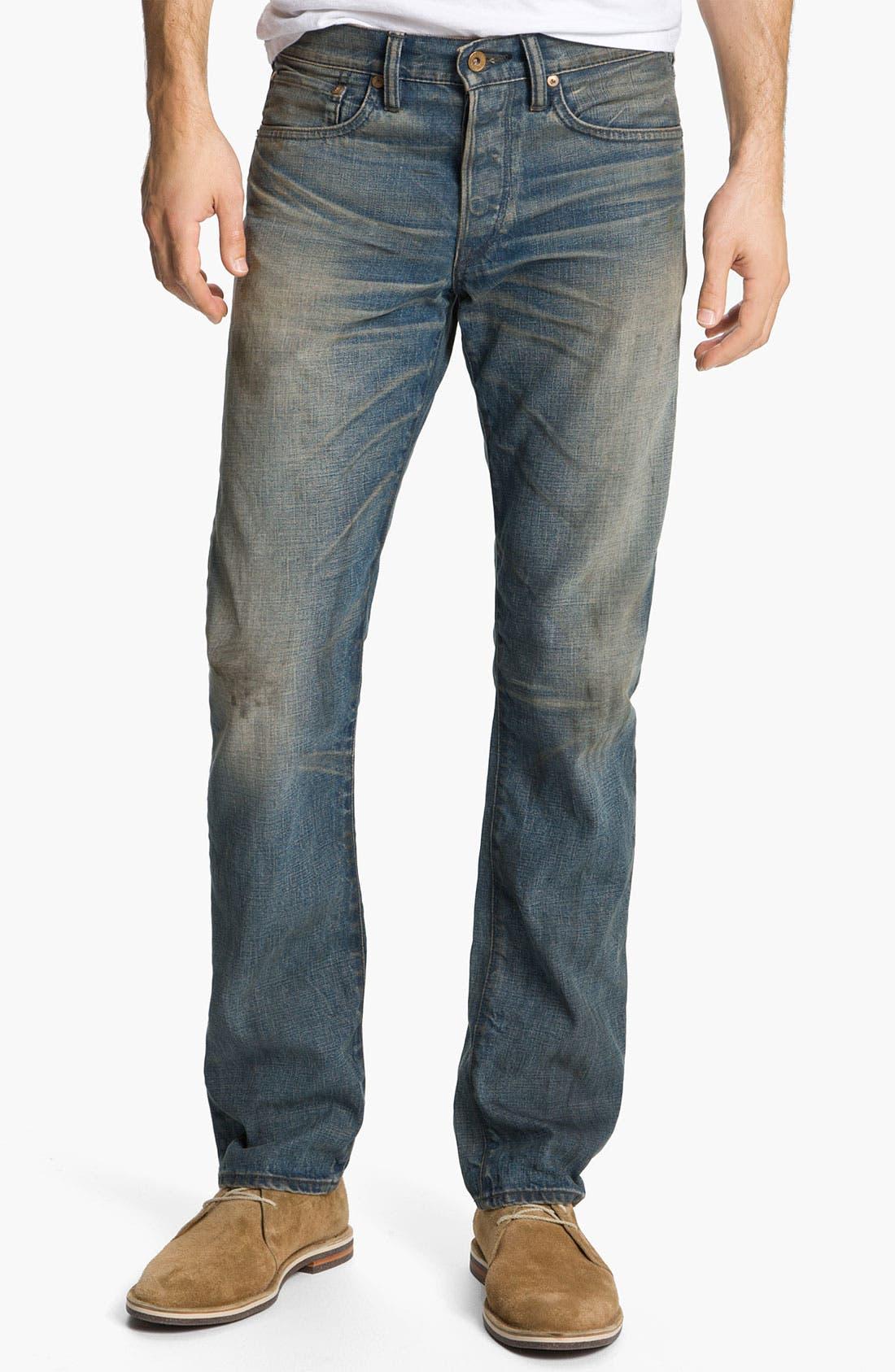 Alternate Image 2  - NSF Clothing Straight Leg Jeans (Wilson)