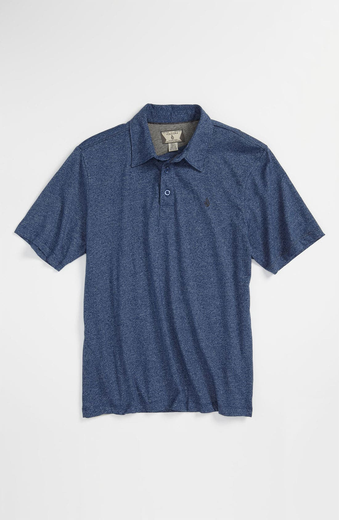 Main Image - Volcom 'Bangout' Marled Polo (Big Boys)