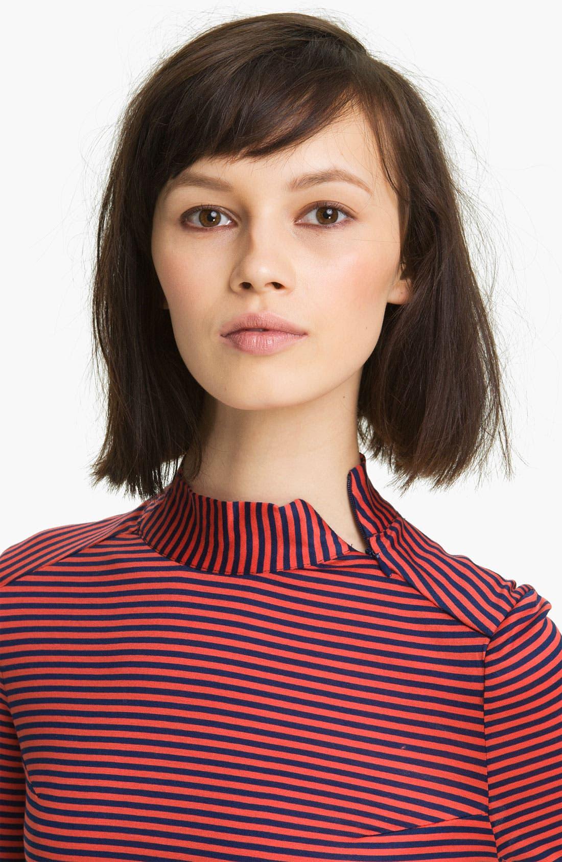 Alternate Image 4  - Twenty8Twelve 'Gigi' Ministripe Jersey Top