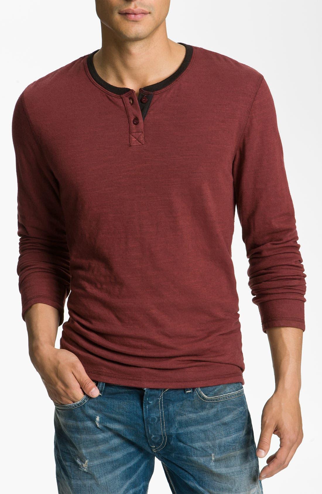 Main Image - NSF Clothing 'Bo' Slub Knit Henley
