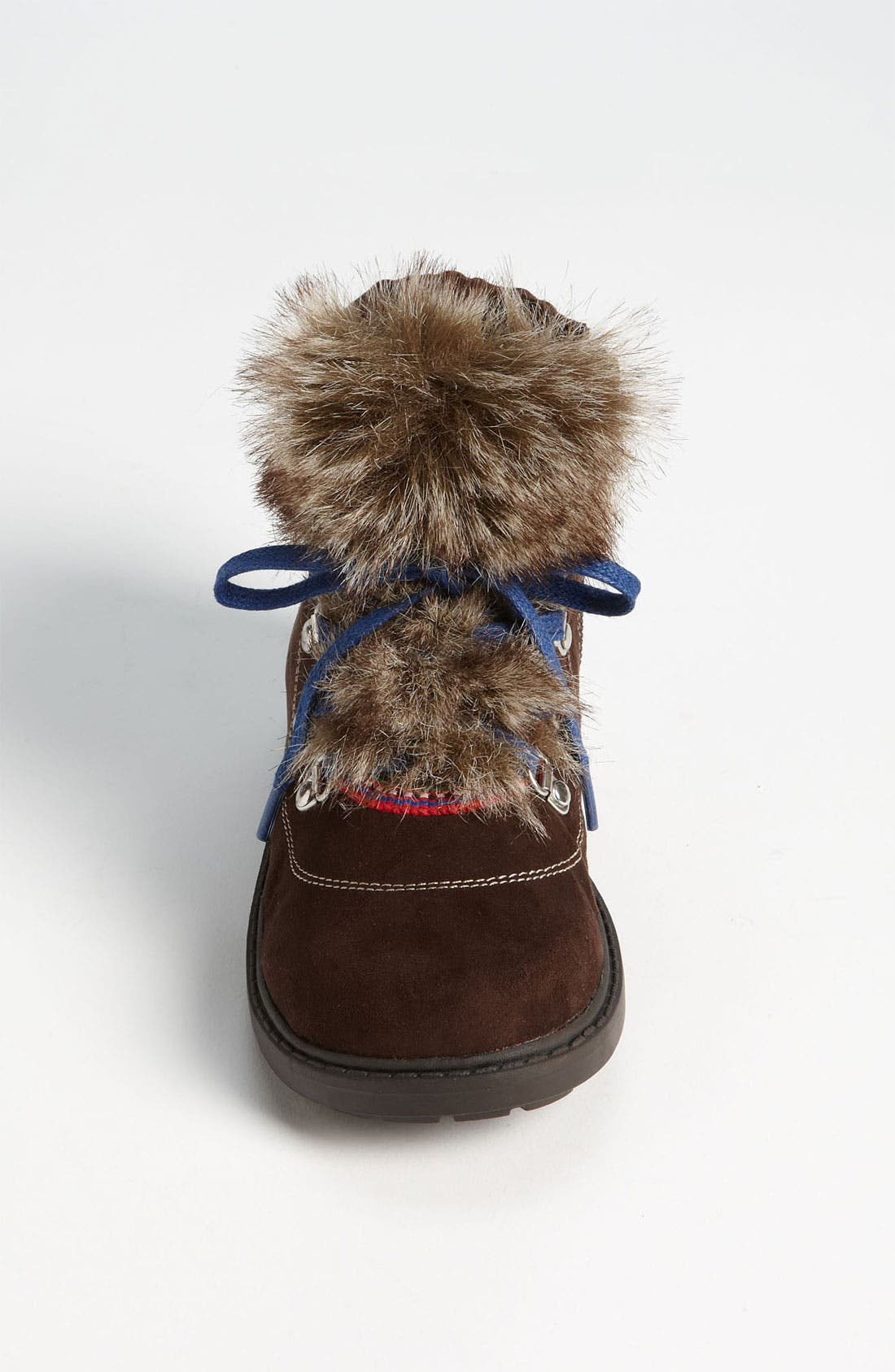 Alternate Image 3  - Stuart Weitzman 'Doodle' Faux Fur Trim Boot (Walker, Toddler, Little Kid & Big Kid)