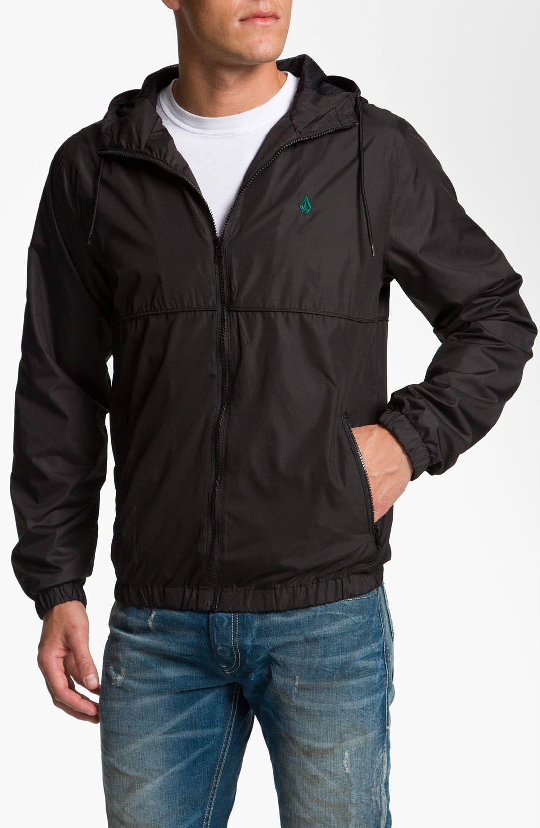 Alternate Image 1 Selected - Volcom 'Swisher' Windbreaker Jacket