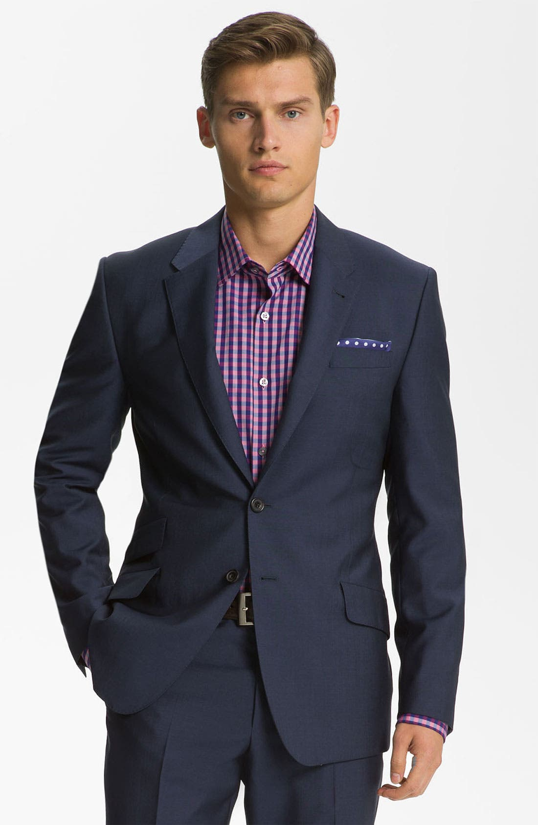 Alternate Image 1 Selected - Paul Smith London Wool & Mohair Suit