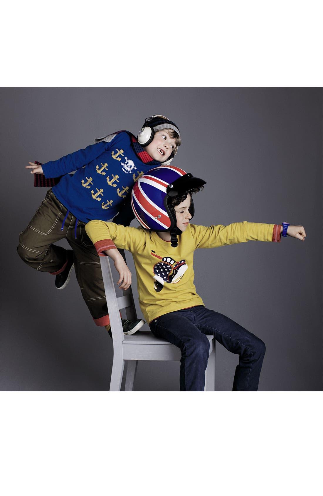 Alternate Image 2  - Mini Boden 'Icon' T-Shirt (Little Boys & Big Boys)