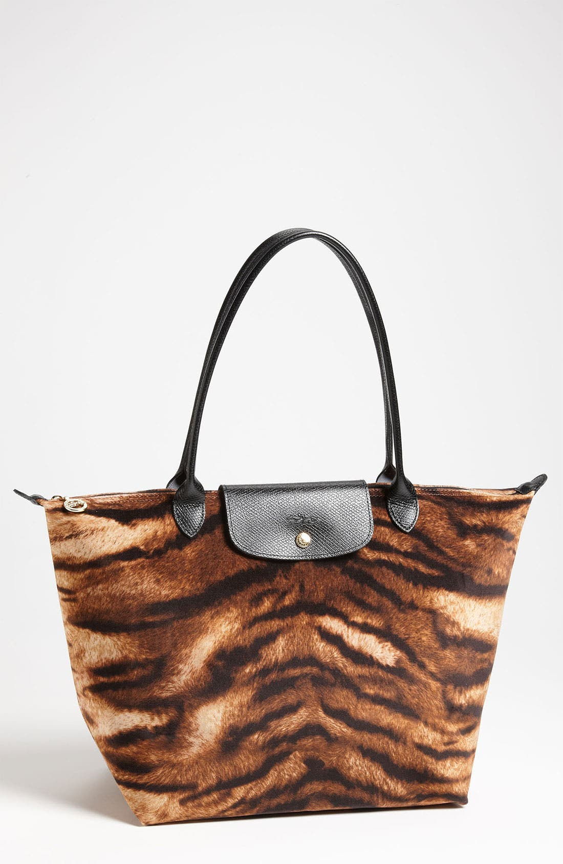 Alternate Image 1 Selected - Longchamp 'Le Pliage Tigre' Large Shoulder Tote