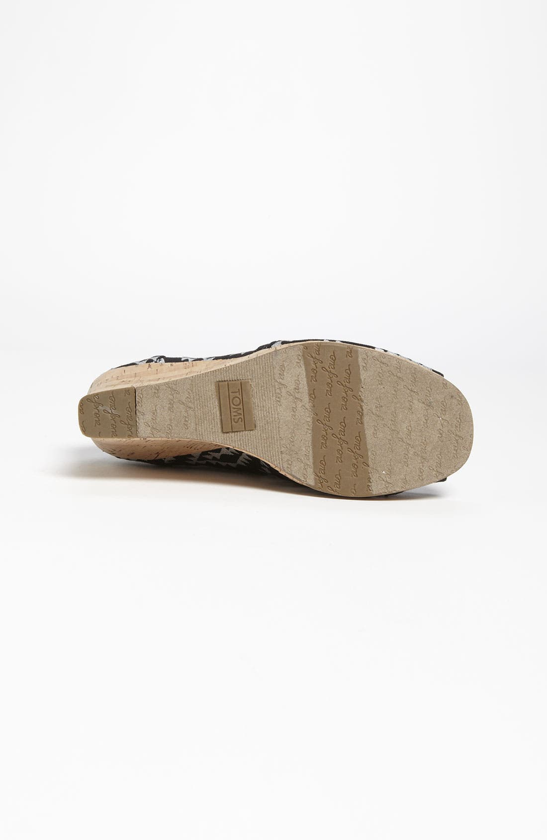 Alternate Image 4  - TOMS 'Reina' Wedge (Women)