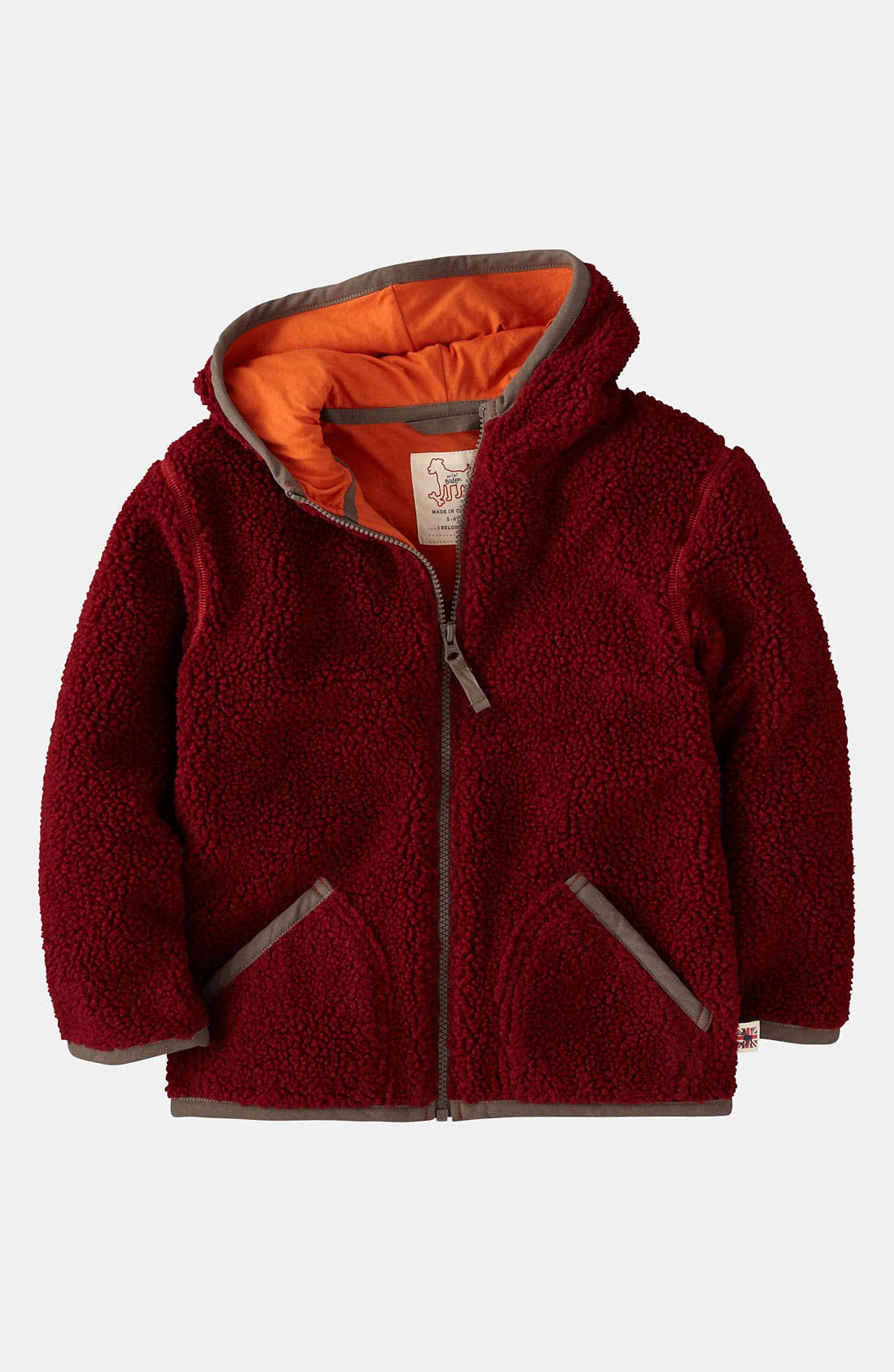 Alternate Image 1 Selected - Mini Boden Hoodie (Toddler)
