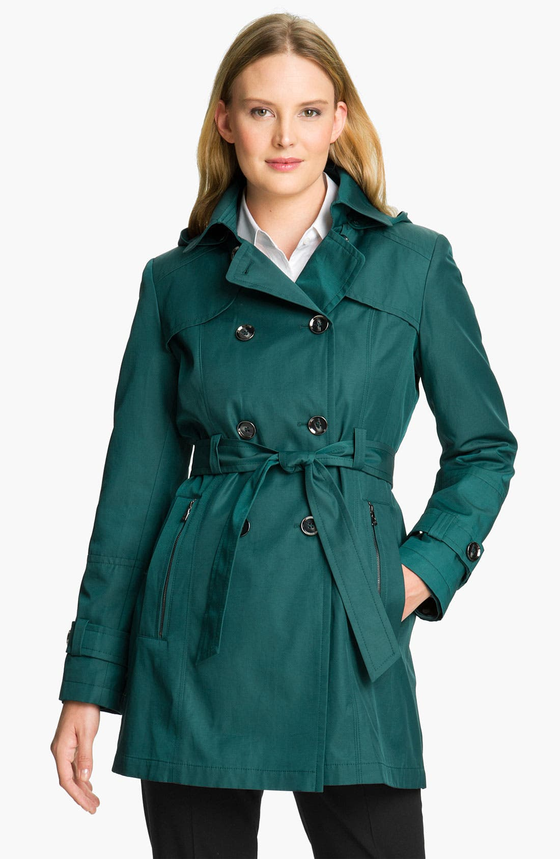 Alternate Image 1 Selected - Gallery Trench Coat with Detachable Liner