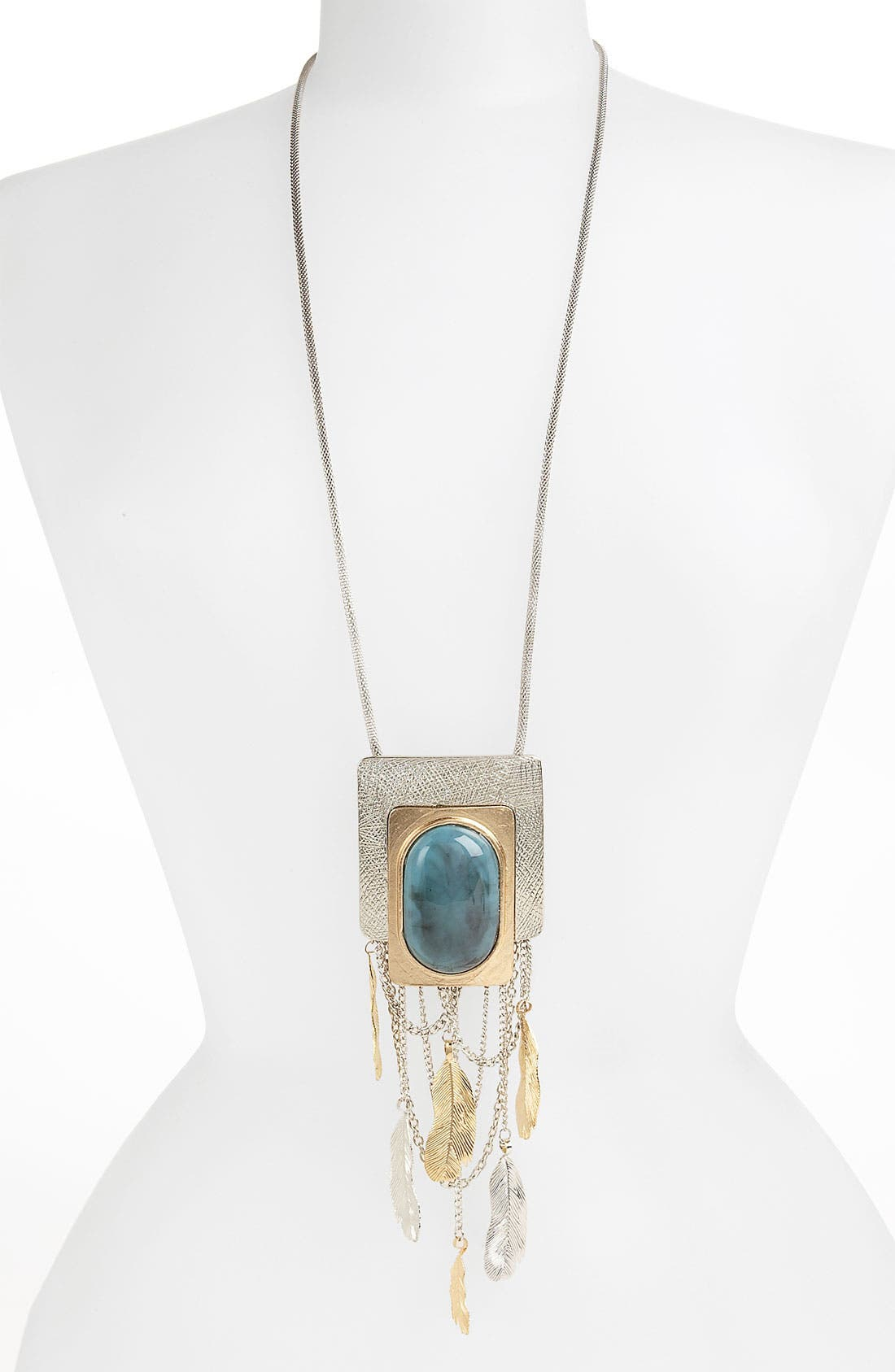 Alternate Image 1 Selected - Natasha Couture 'Deco Hippie' Pendant Necklace