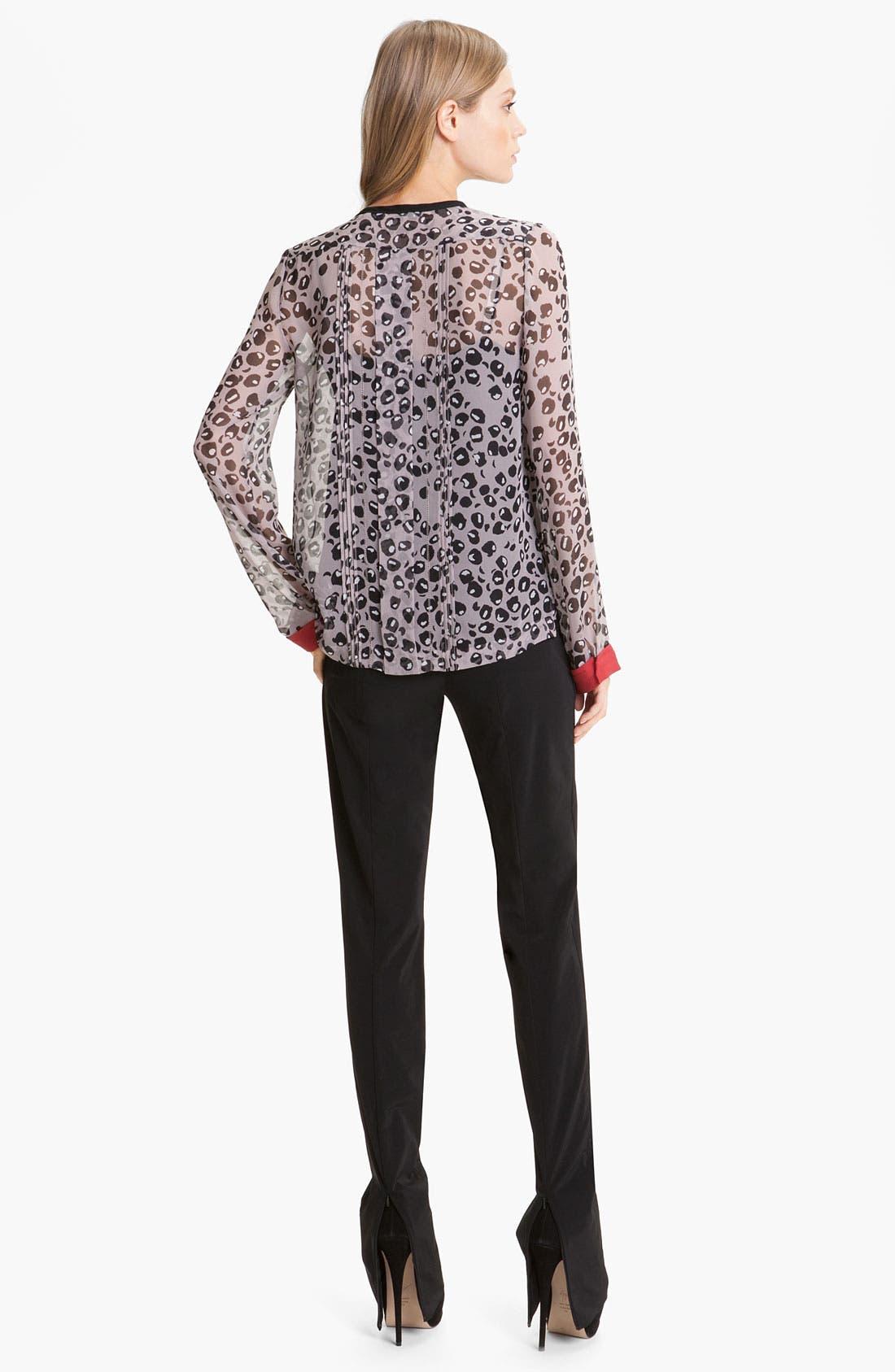 Alternate Image 4  - Diane von Furstenberg 'Annabelle' Zip Hem Pants