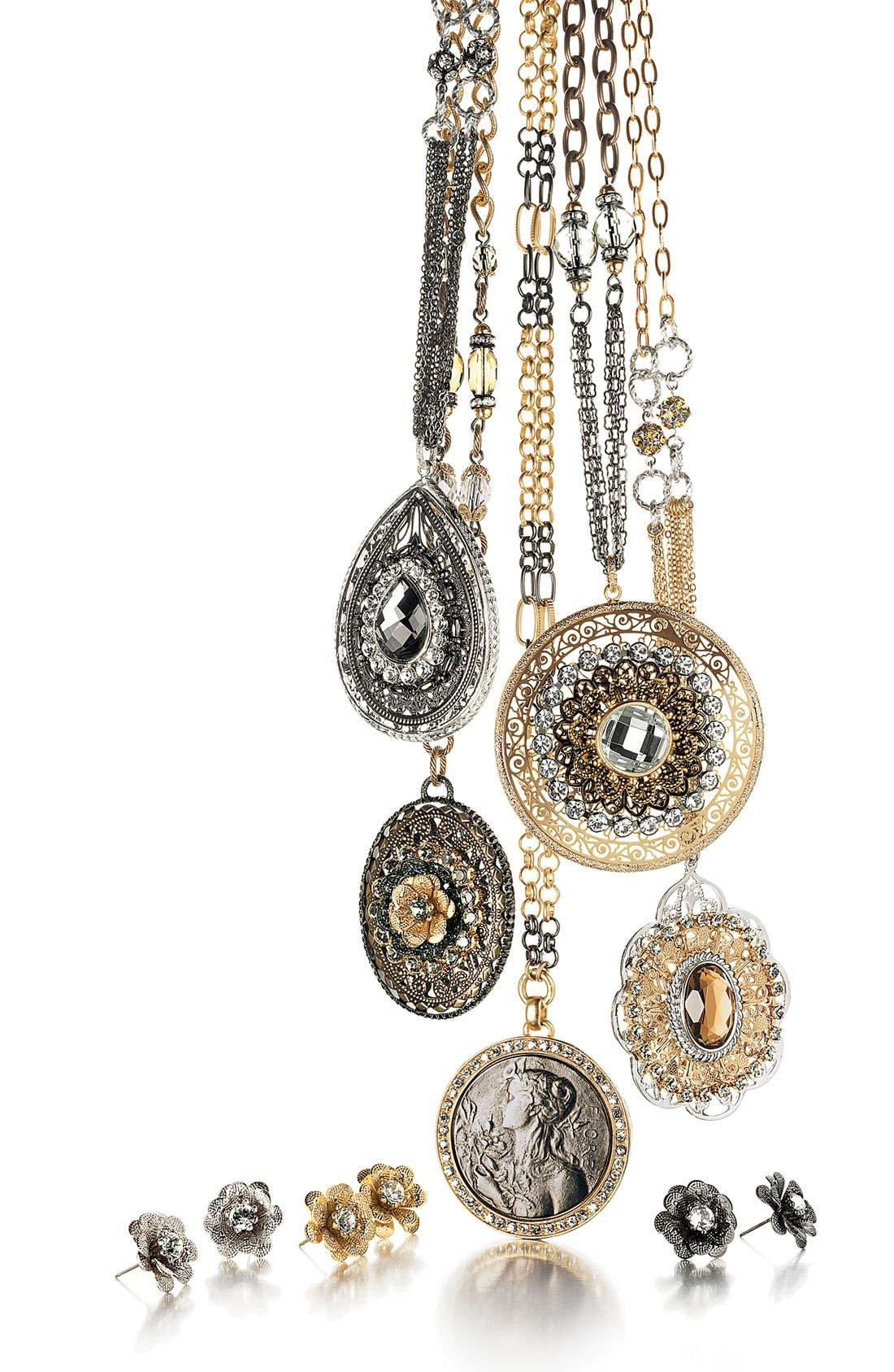Alternate Image 2  - Nordstrom 'Romantics' Stud Earrings