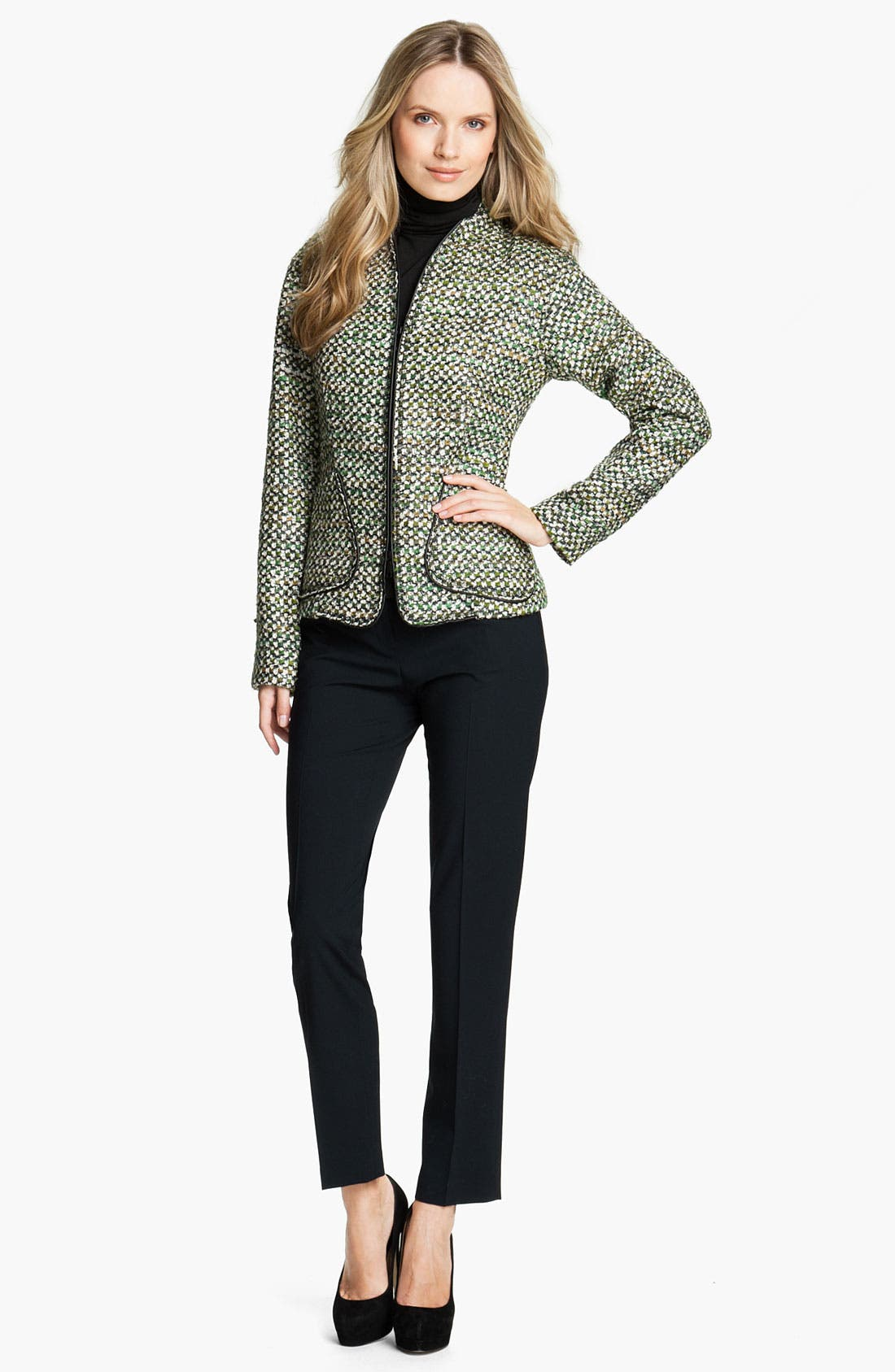 Alternate Image 4  - Lafayette 148 New York 'Hierarchy' Tweed Jacket