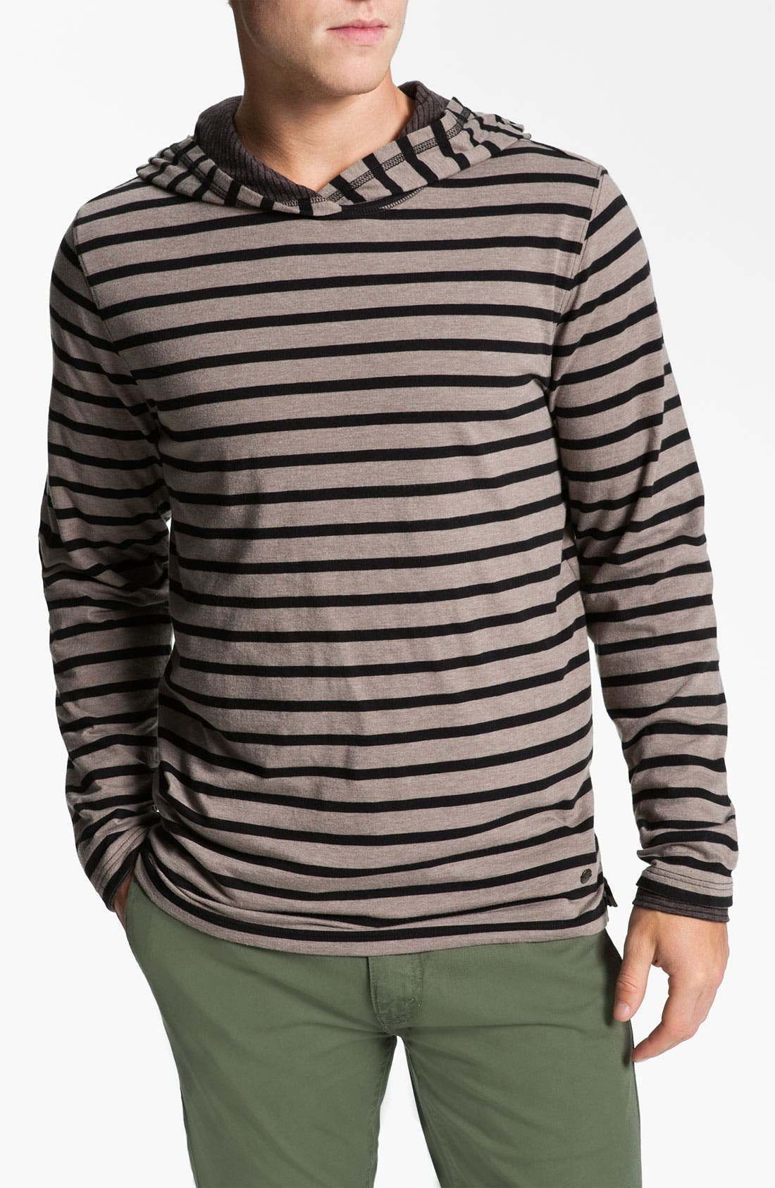 Alternate Image 1 Selected - BOSS Orange 'Timeout' Hooded Sweatshirt