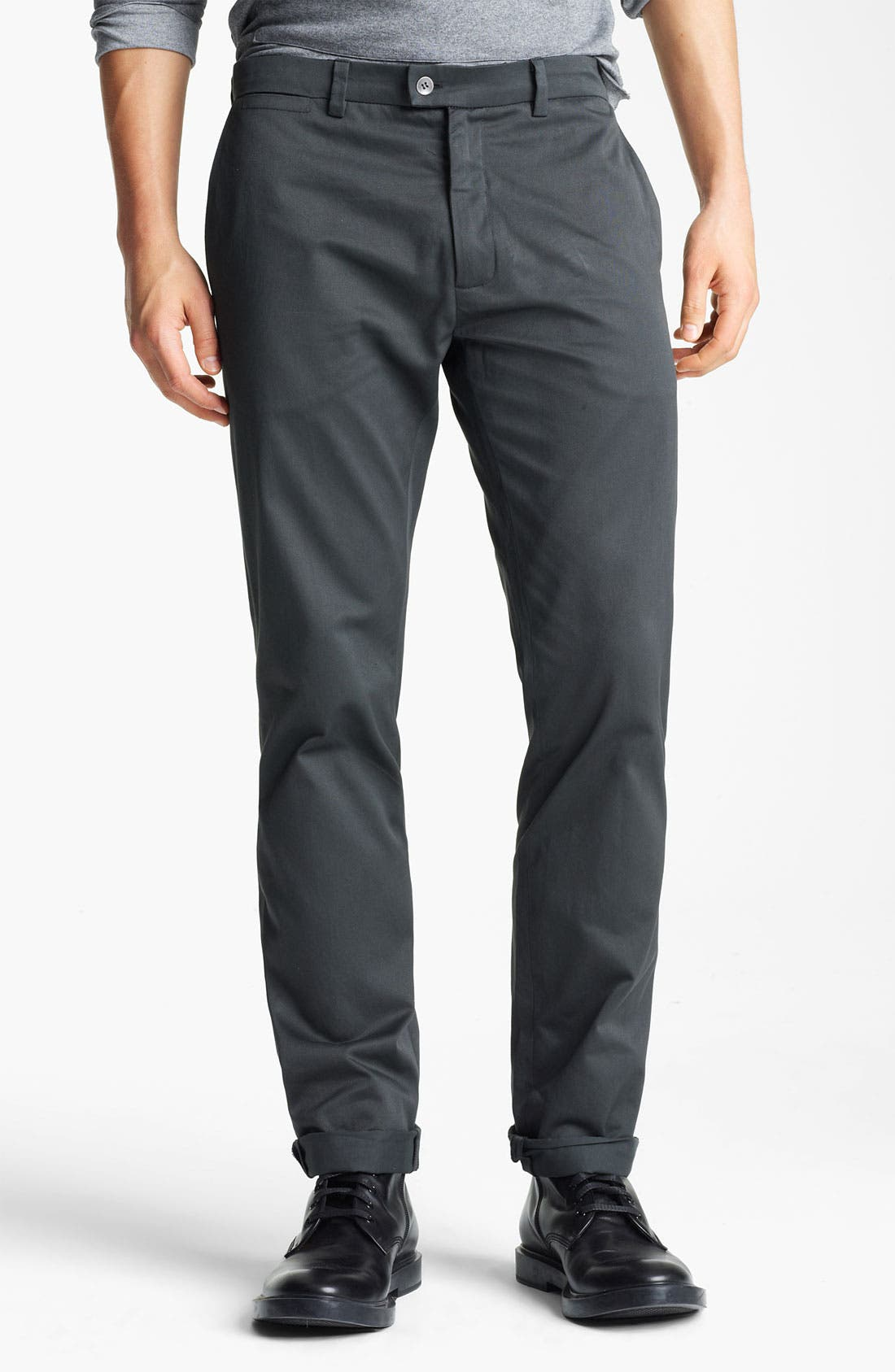 Alternate Image 1 Selected - Field Scout Straight Leg Chinos
