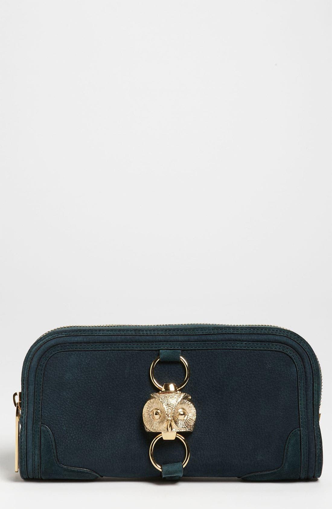 Alternate Image 1 Selected - Burberry Prorsum Nubuck Leather Clutch