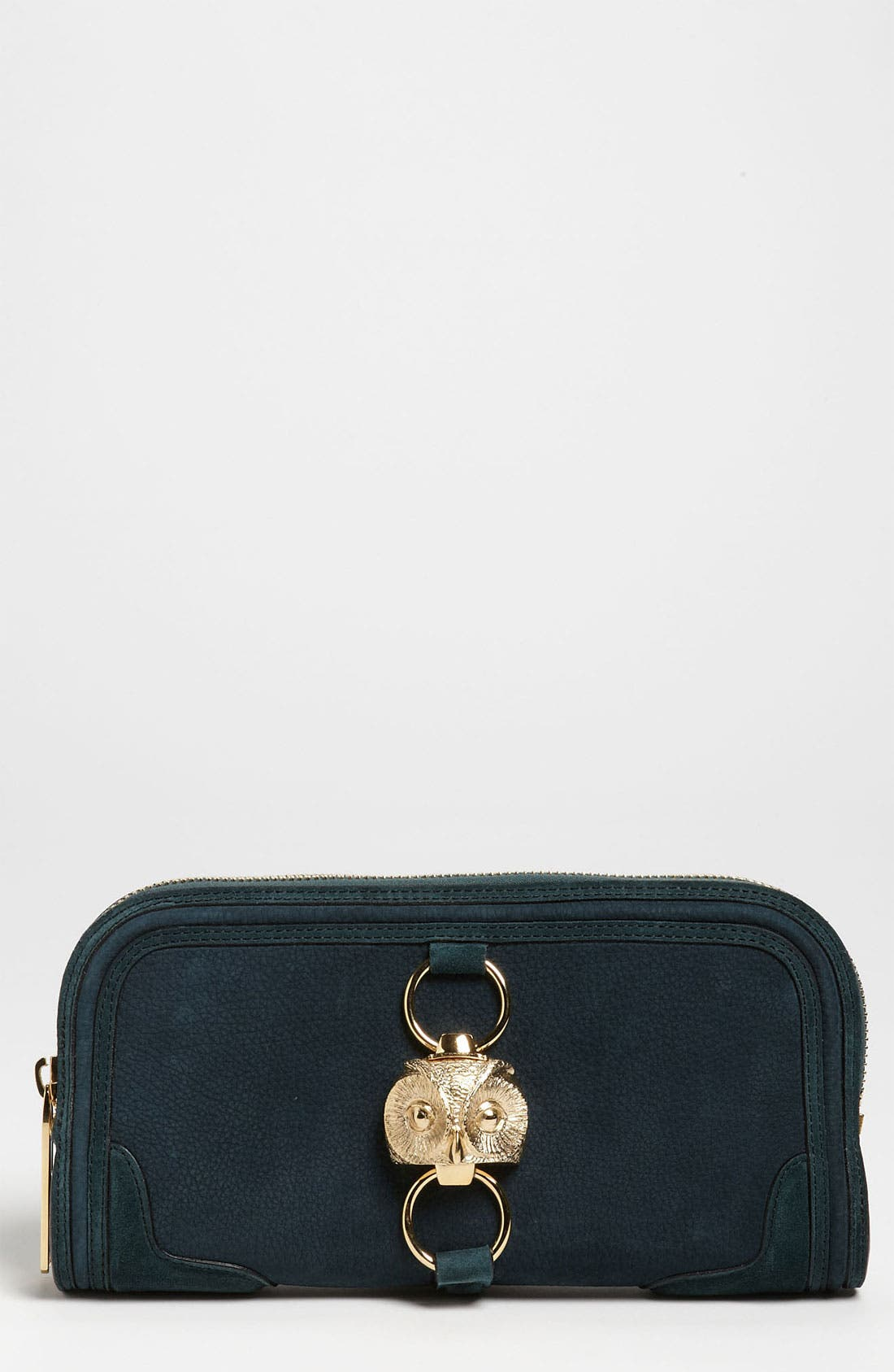 Main Image - Burberry Prorsum Nubuck Leather Clutch