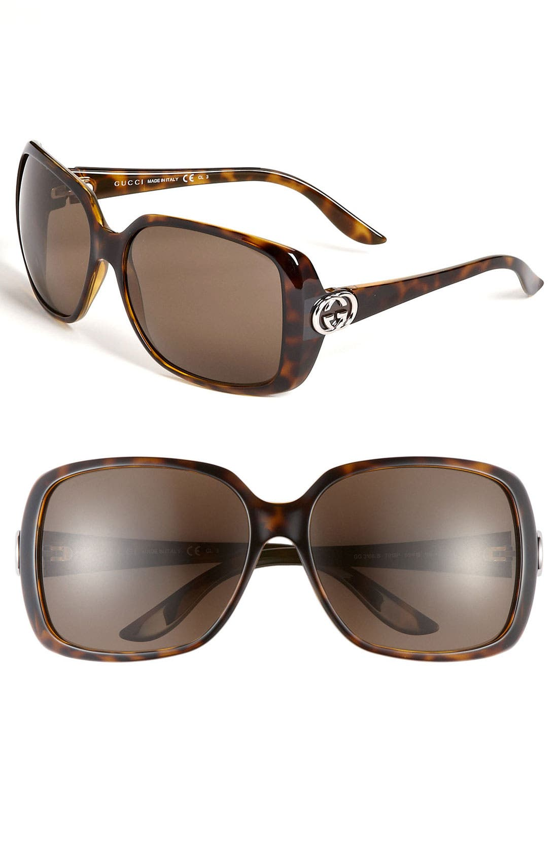 Main Image - Gucci 59mm Polarized Sunglasses