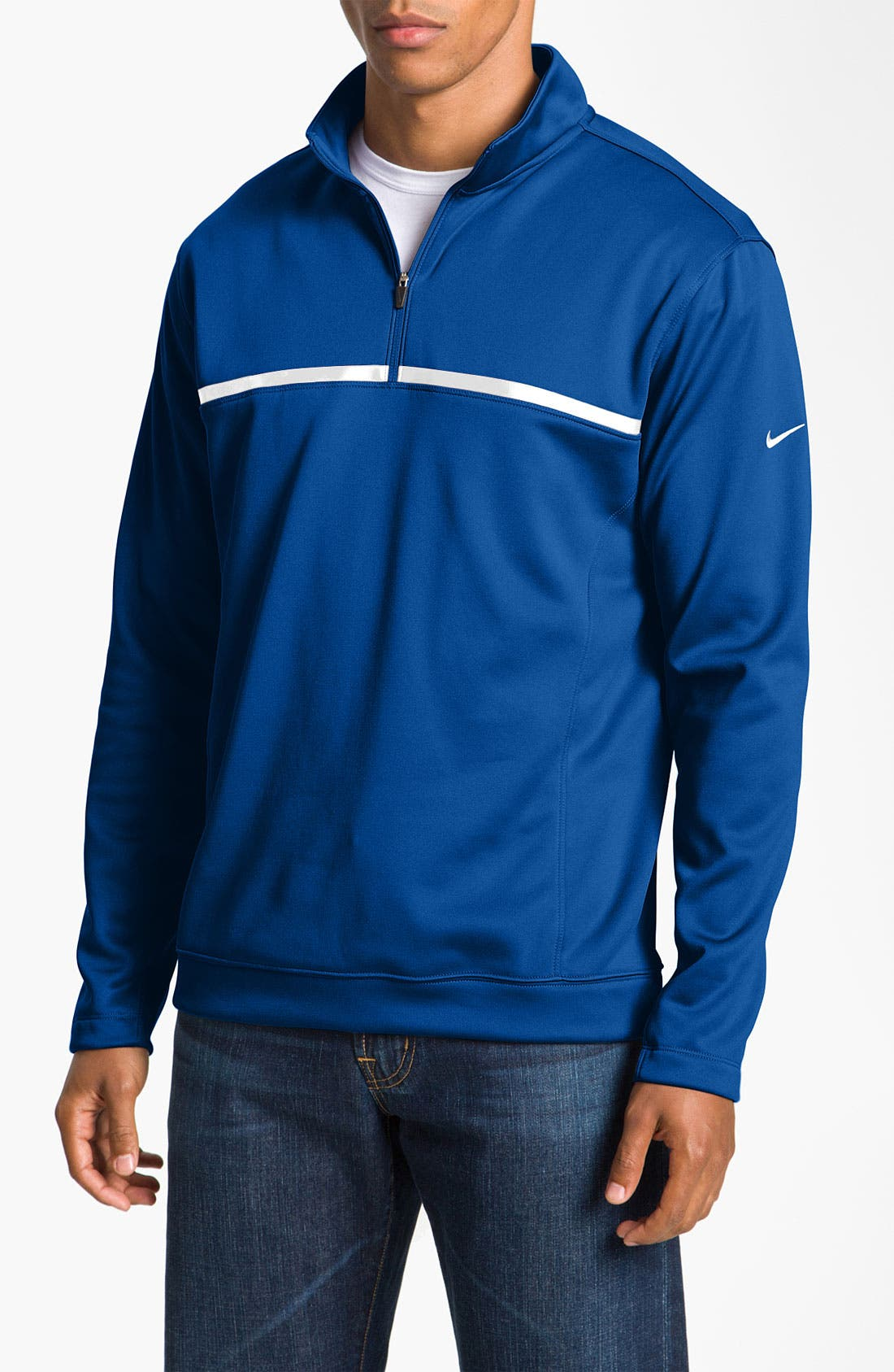 Main Image - Nike Golf 'Therma-FIT' Quarter Zip Pullover