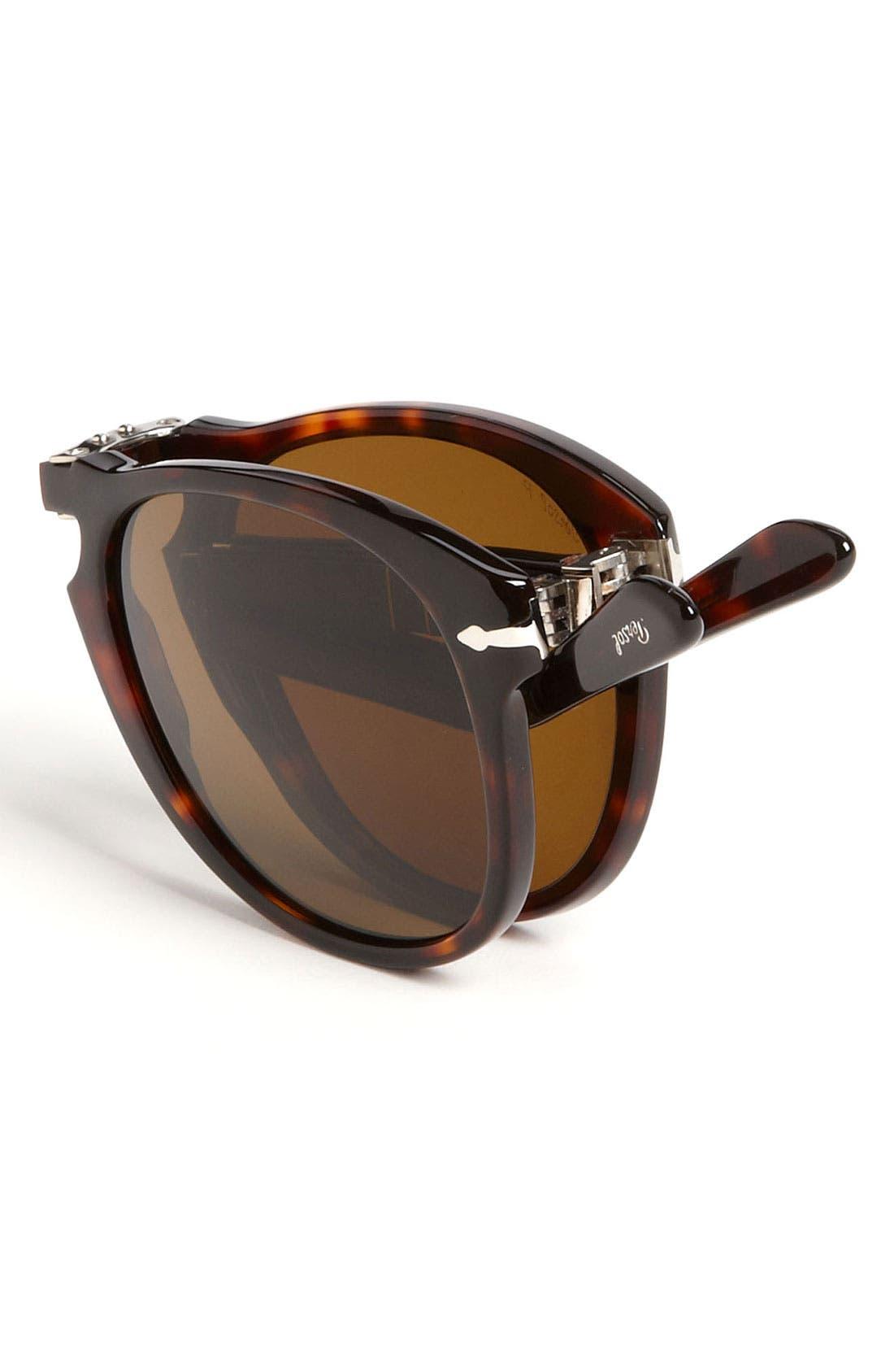 Alternate Image 3  - Persol '714' 57mm Folding Polarized Keyhole Sunglasses