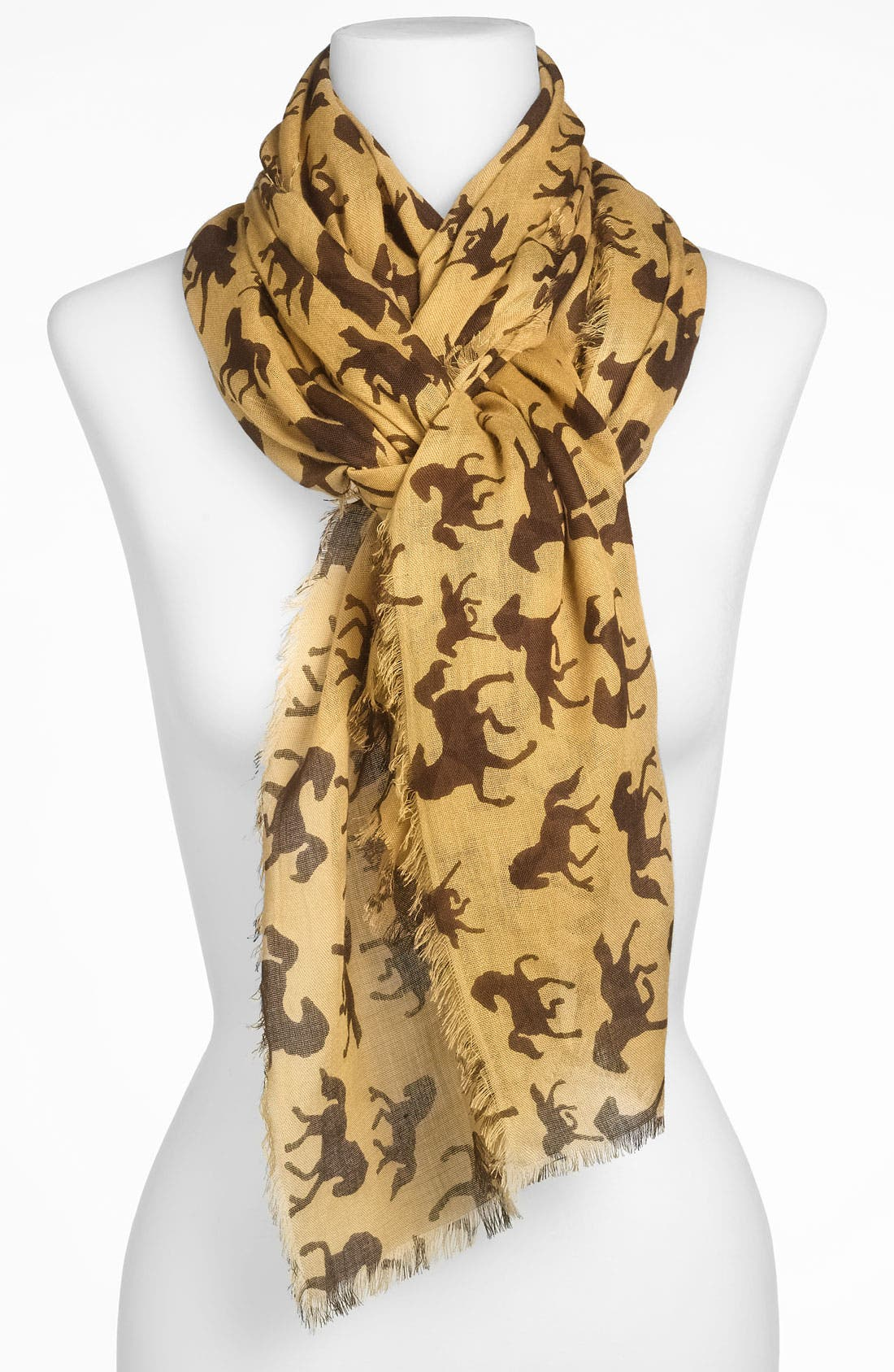 Alternate Image 1 Selected - Accessory Street 'Pony' Scarf