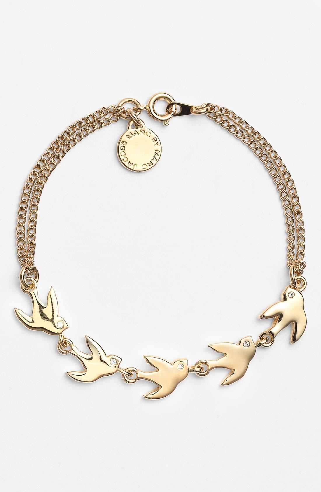 Alternate Image 1 Selected - MARC BY MARC JACOBS 'Oiseau d'Amour - Flight' Line Bracelet
