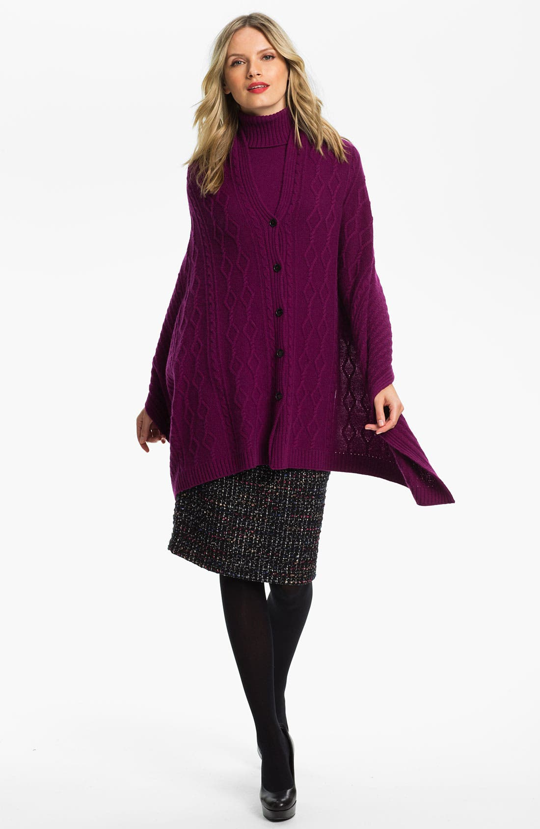Alternate Image 4  - Lafayette 148 New York 'Cambria Tweed' Slim Skirt