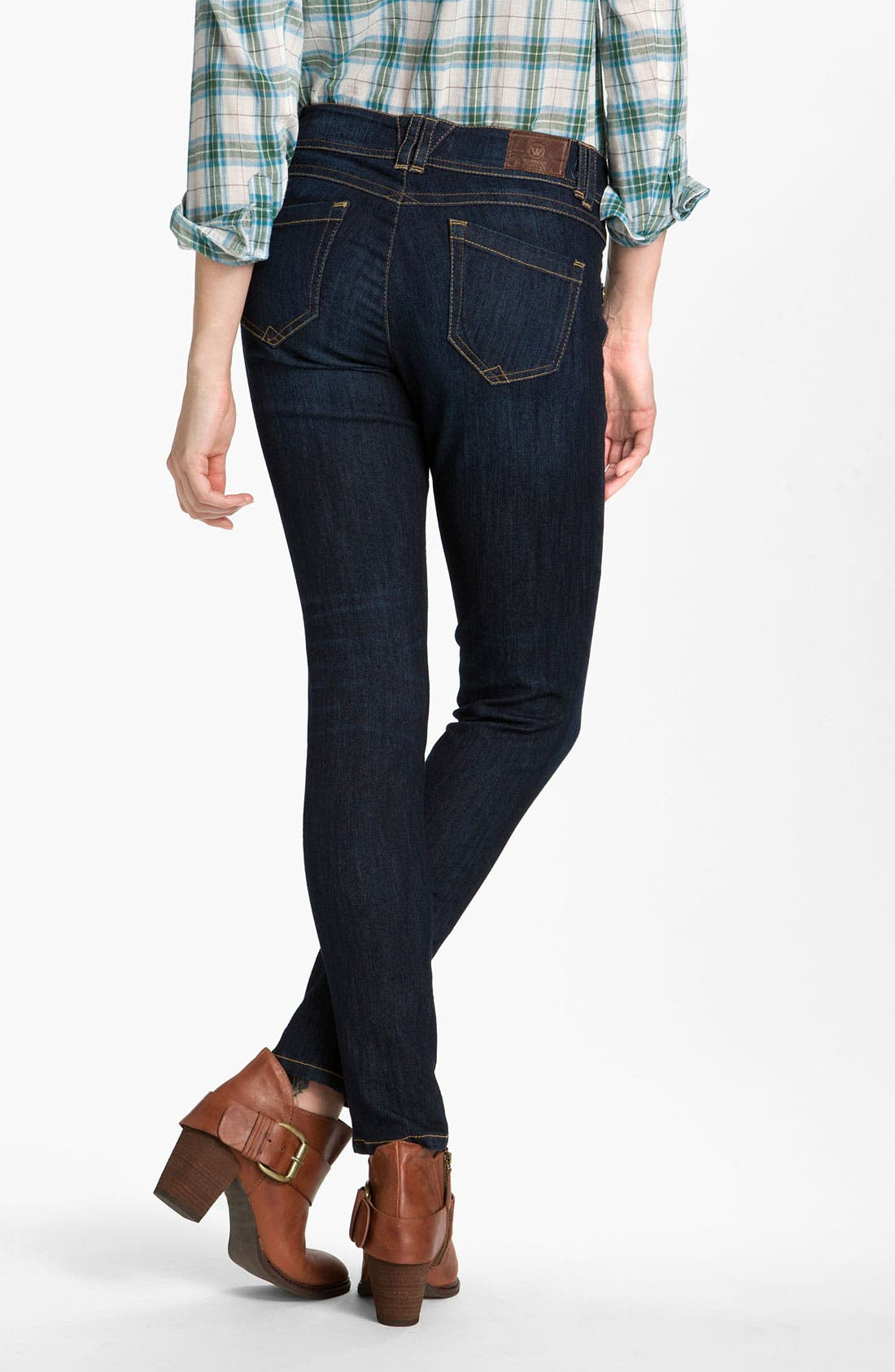 Alternate Image 2  - Wit & Wisdom Denim Leggings (Indigo Wash) (Nordstrom Exclusive)