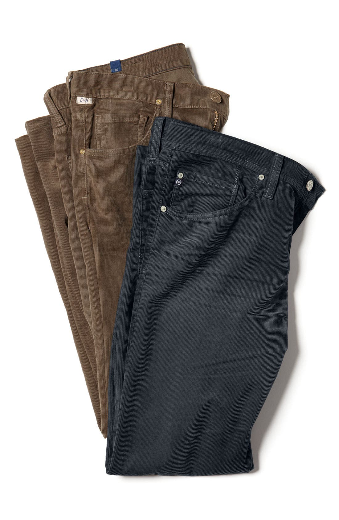Alternate Image 4  - Citizens of Humanity 'Sid' Straight Leg Corduroy Pants