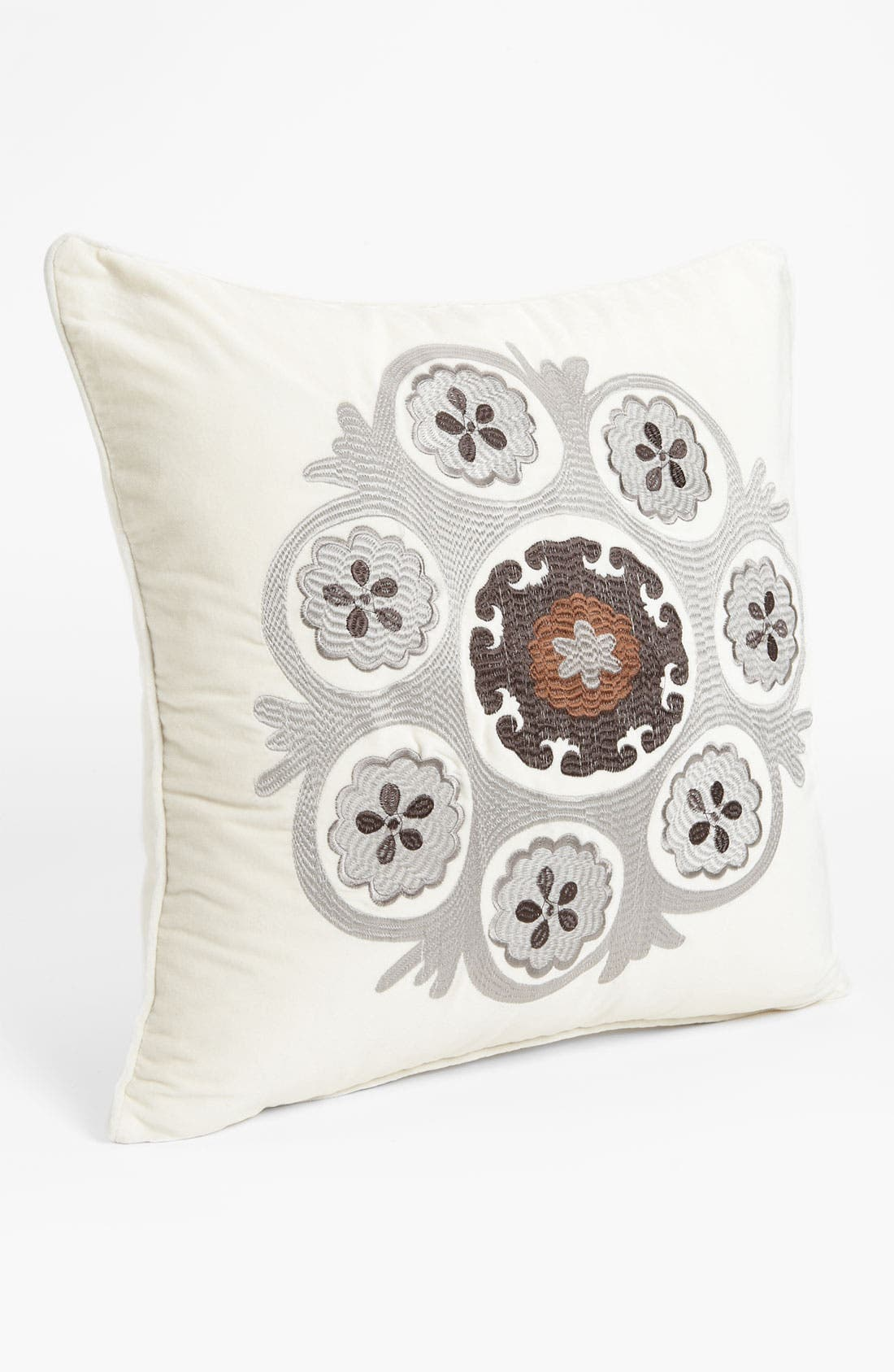Alternate Image 1 Selected - Levtex Embroidered Suzani Pillow