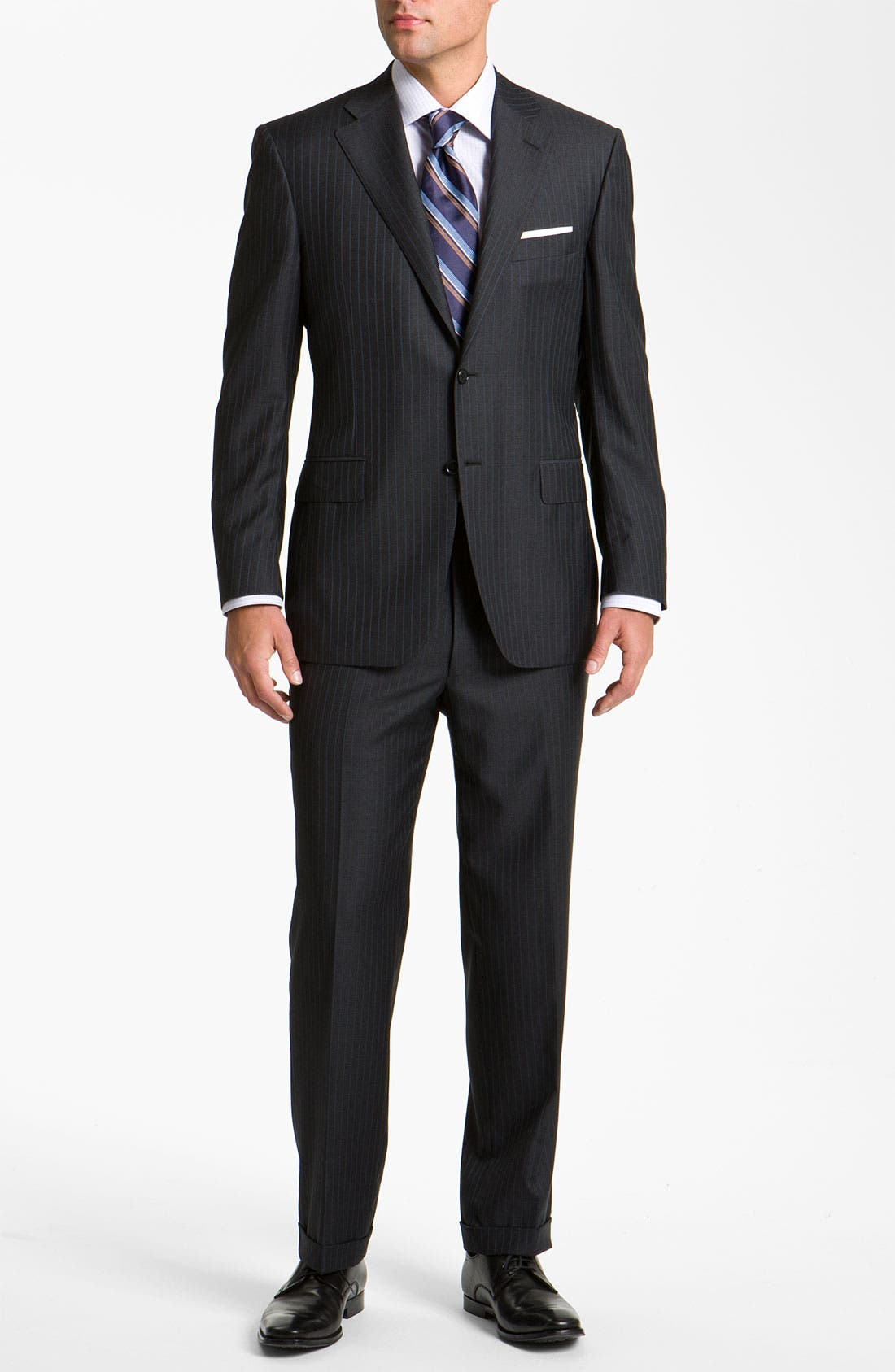 Alternate Image 3  - Canali Stripe Suit