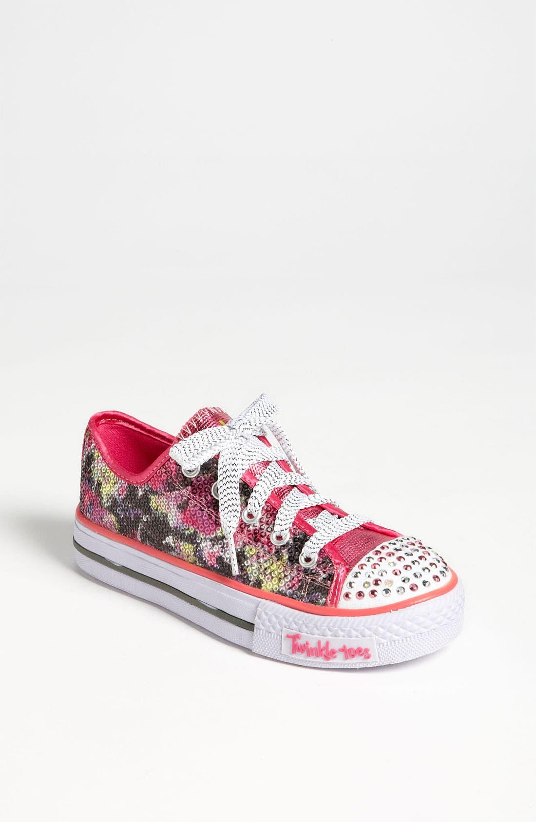 Alternate Image 1 Selected - SKECHERS 'Shuffle Ups' Light-Up Sneaker (Toddler & Little Kid)