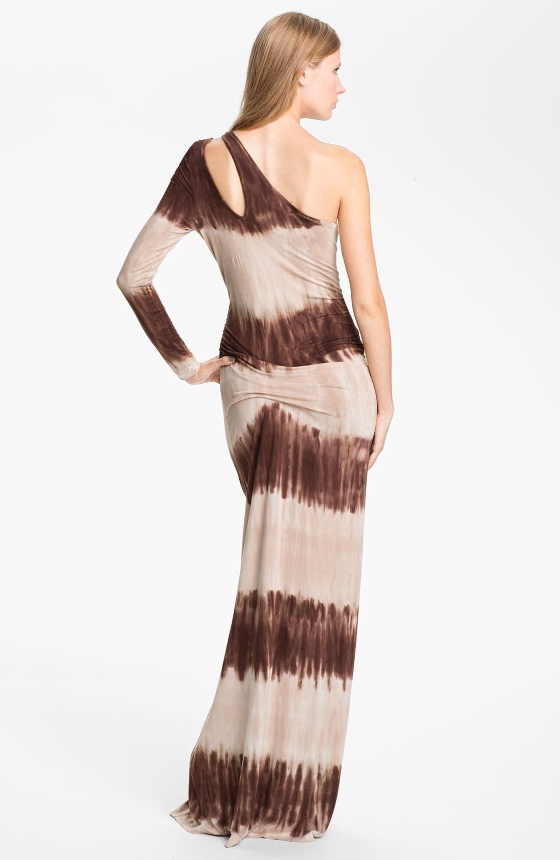 Alternate Image 2  - Young, Fabulous & Broke 'Vinny' One Shoulder Maxi Dress
